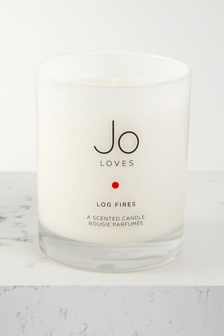 Jo Loves Log Fires scented candle, 185g