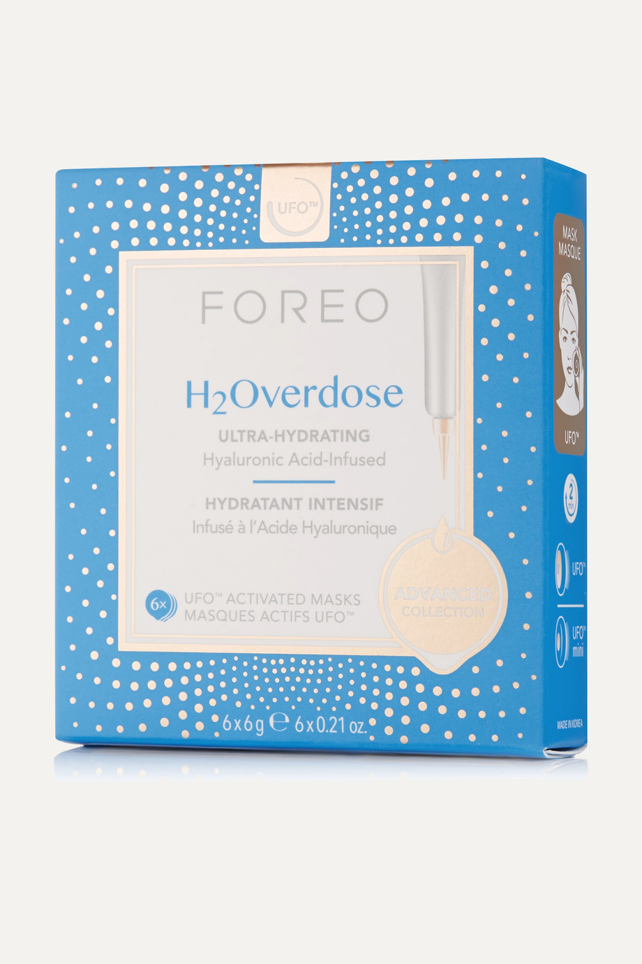 FOREO UFO Activated Masks - H2Overdose x 6