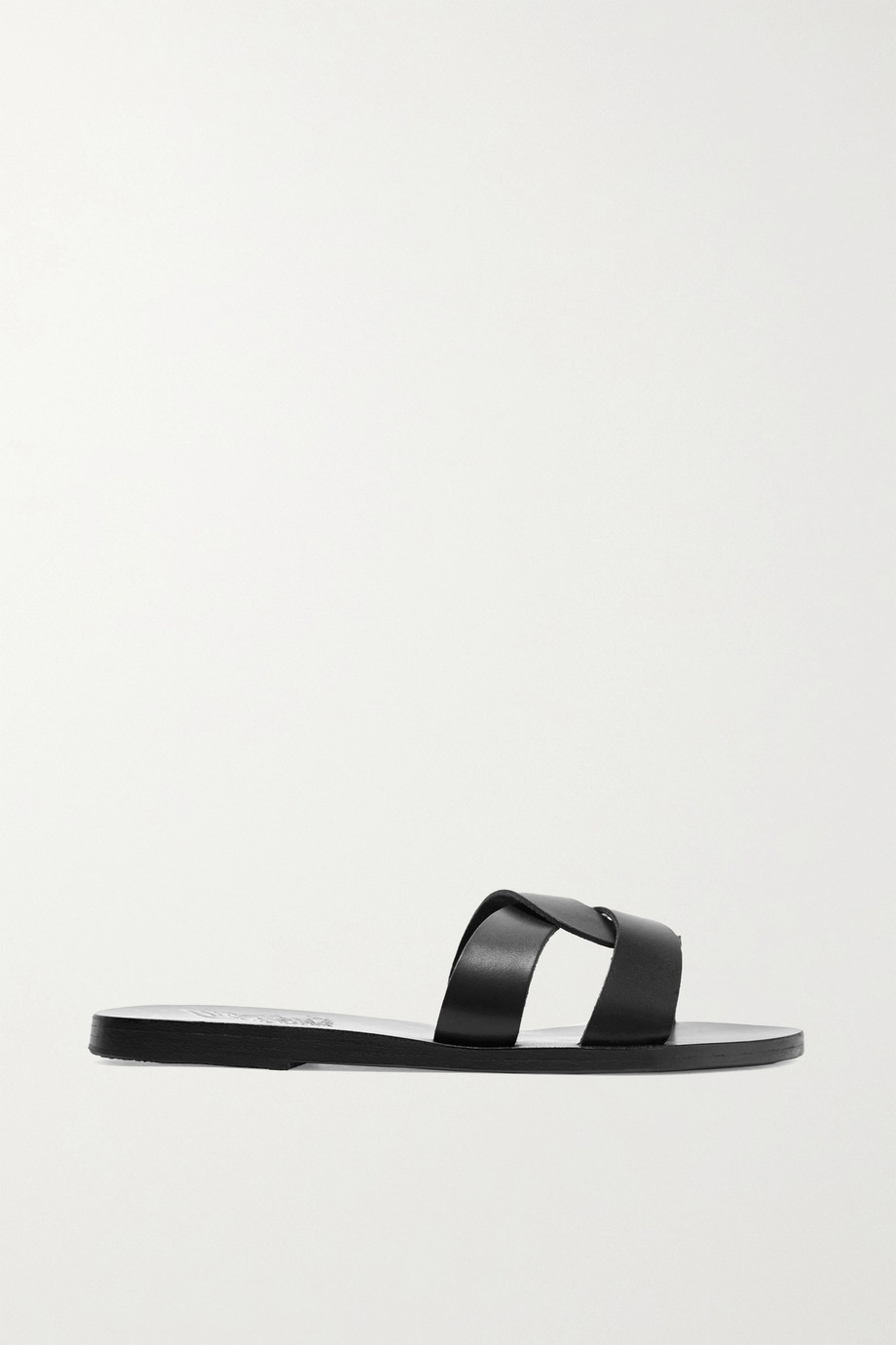 ANCIENT GREEK SANDALS Desmos cutout leather slides