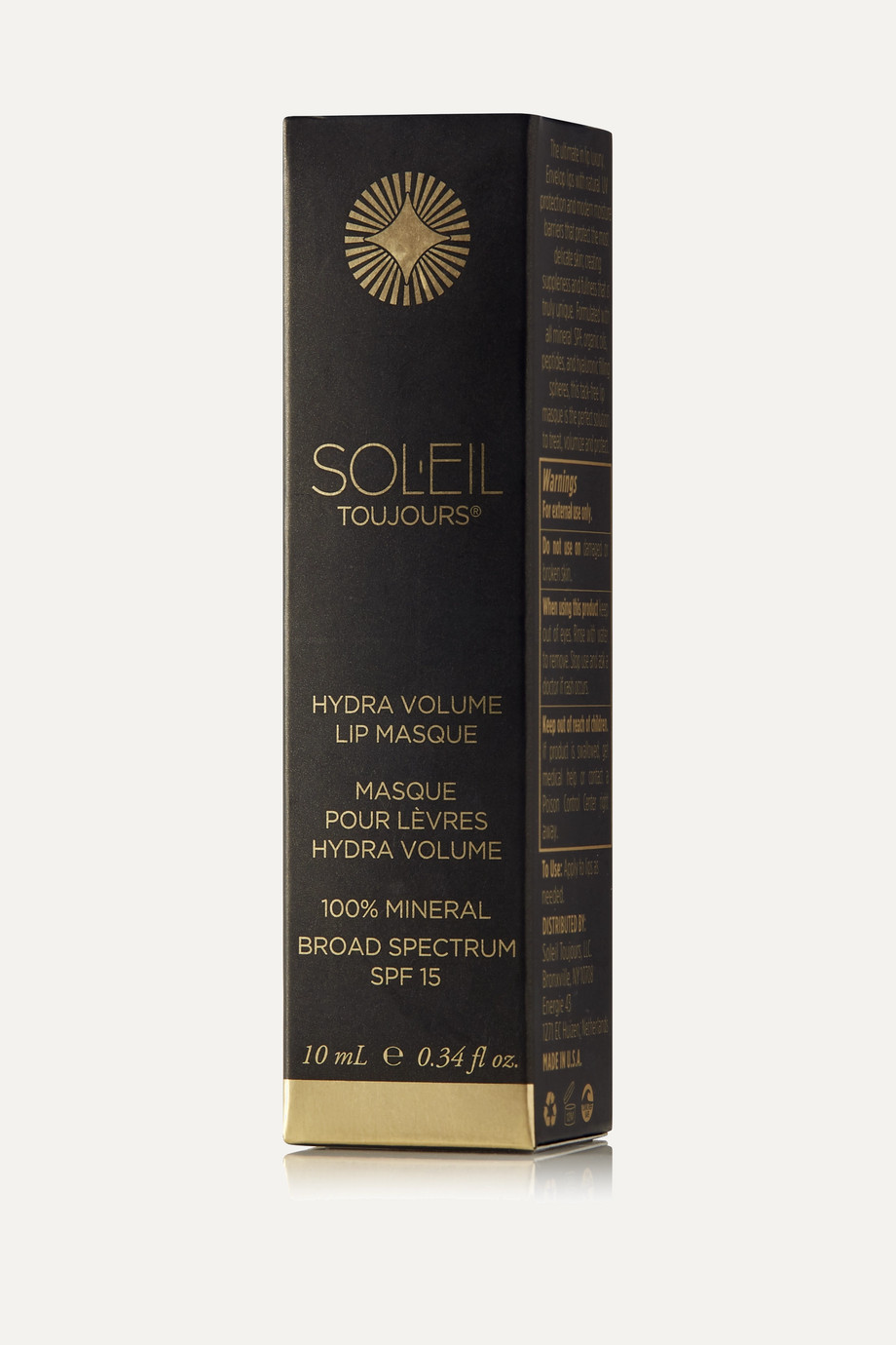 SOLEIL TOUJOURS + NET SUSTAIN Hydra Volume Lip Masque SPF15 - Cloud Nine