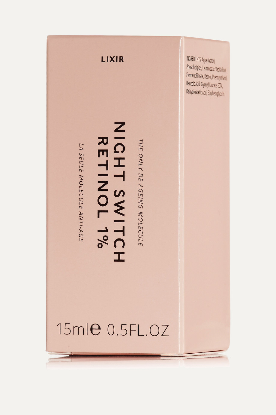 LIXIRSKIN Night Switch Retinol 1%, 15ml