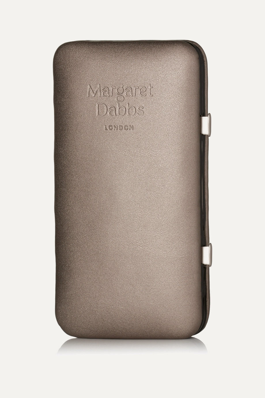 MARGARET DABBS LONDON Leather-Bound Manicure & Pedicure Set