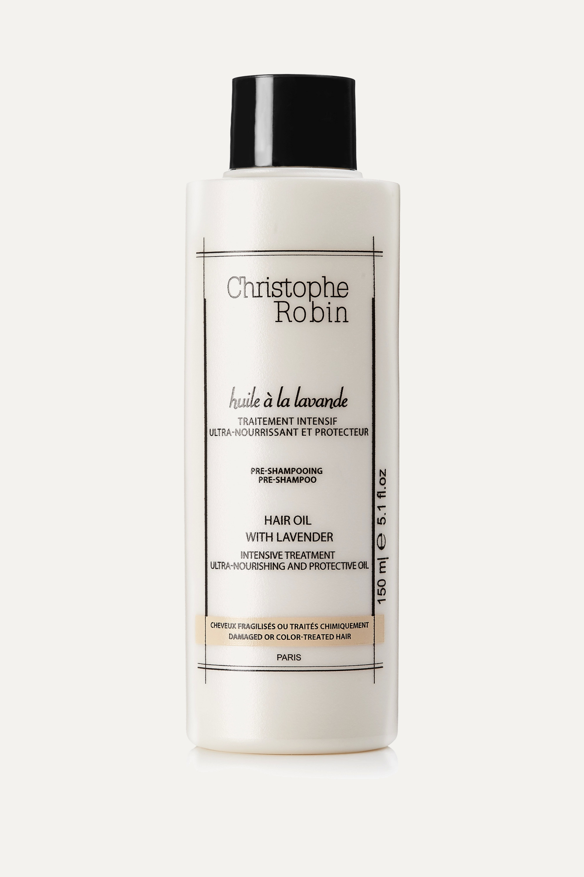 CHRISTOPHE ROBIN Moisturizing Hair Oil With Lavender, 150ml