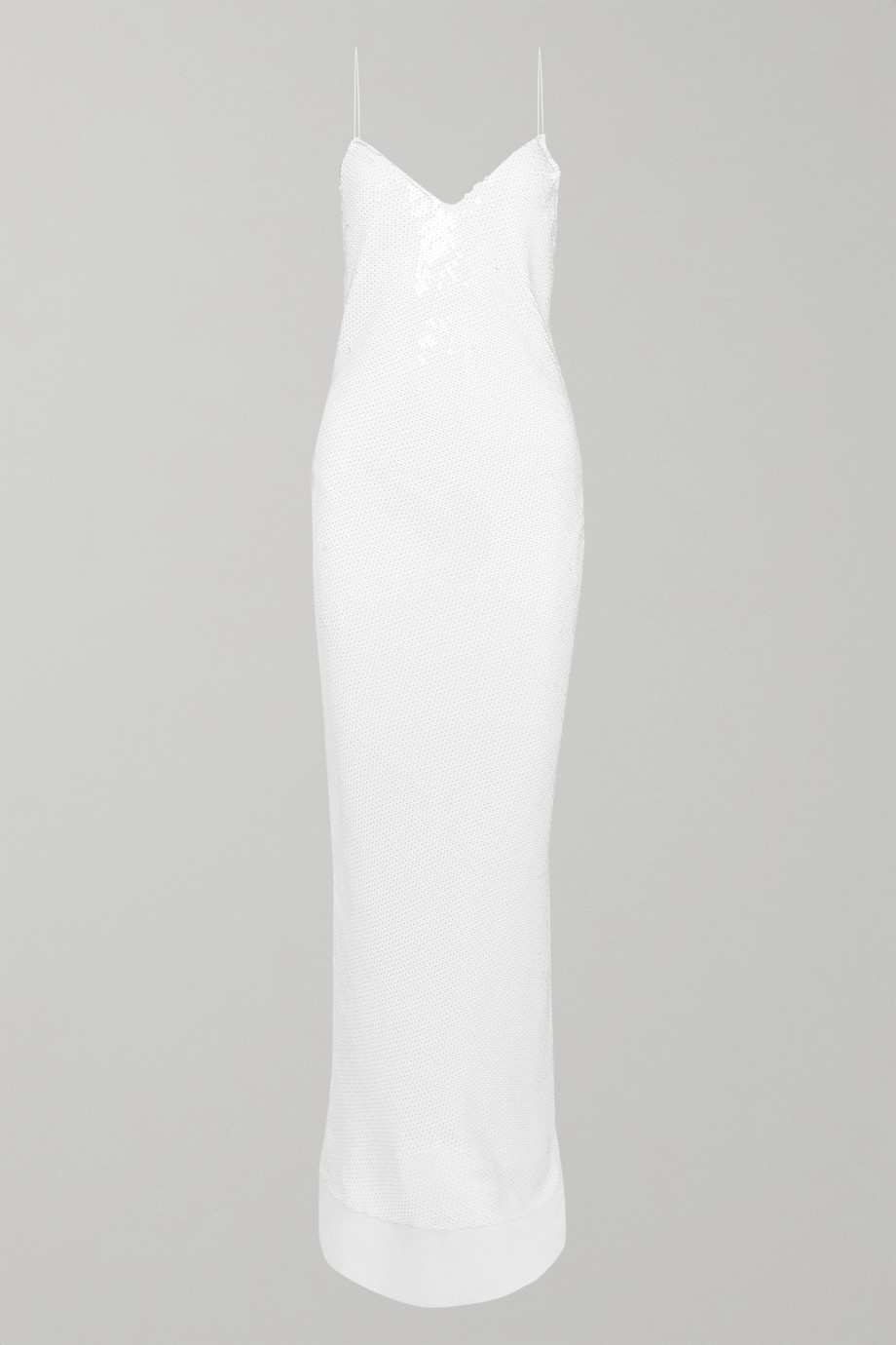 STELLA MCCARTNEY Sequined silk-chiffon gown