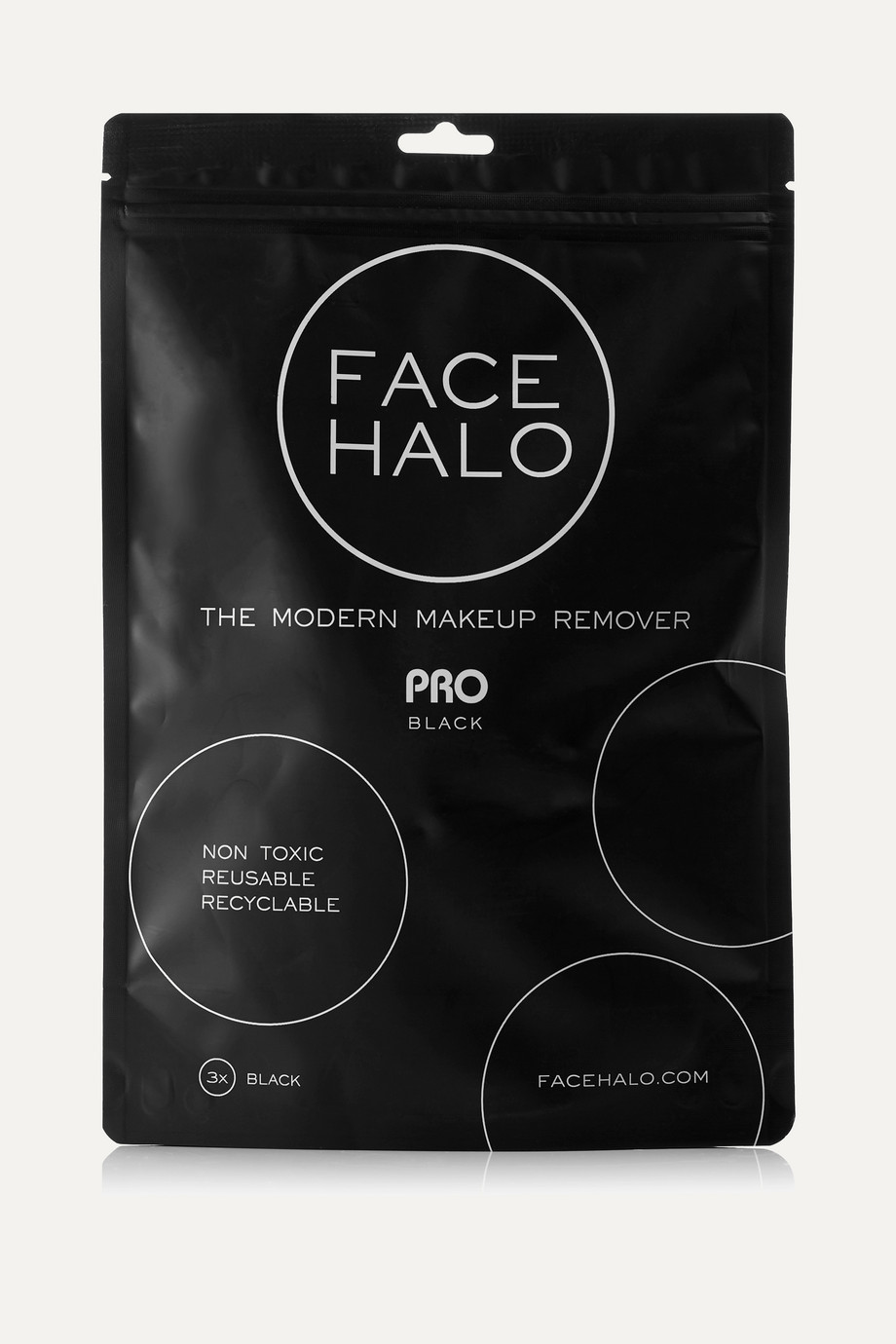 FACE HALO + NET SUSTAIN Pro set of three makeup remover pads