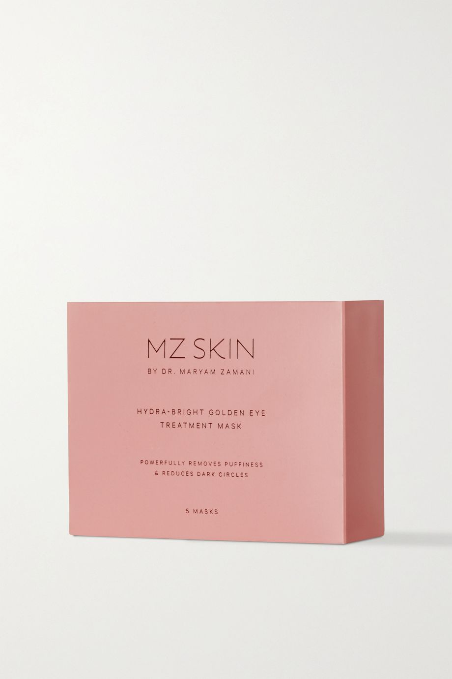 MZ SKIN Hydra-Bright Golden Eye Treatment Mask x 5