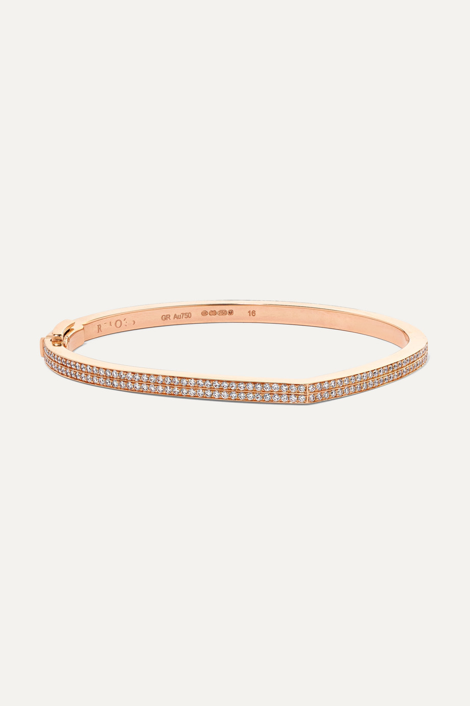 REPOSSI Antifer 18-karat rose gold diamond bracelet