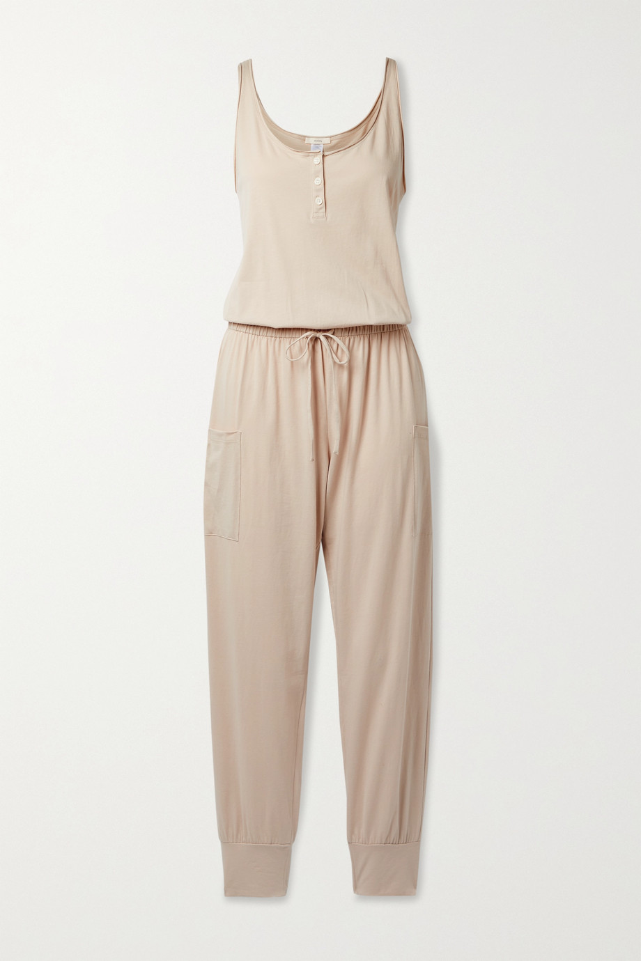 EBERJEY Brie cotton-jersey jumpsuit