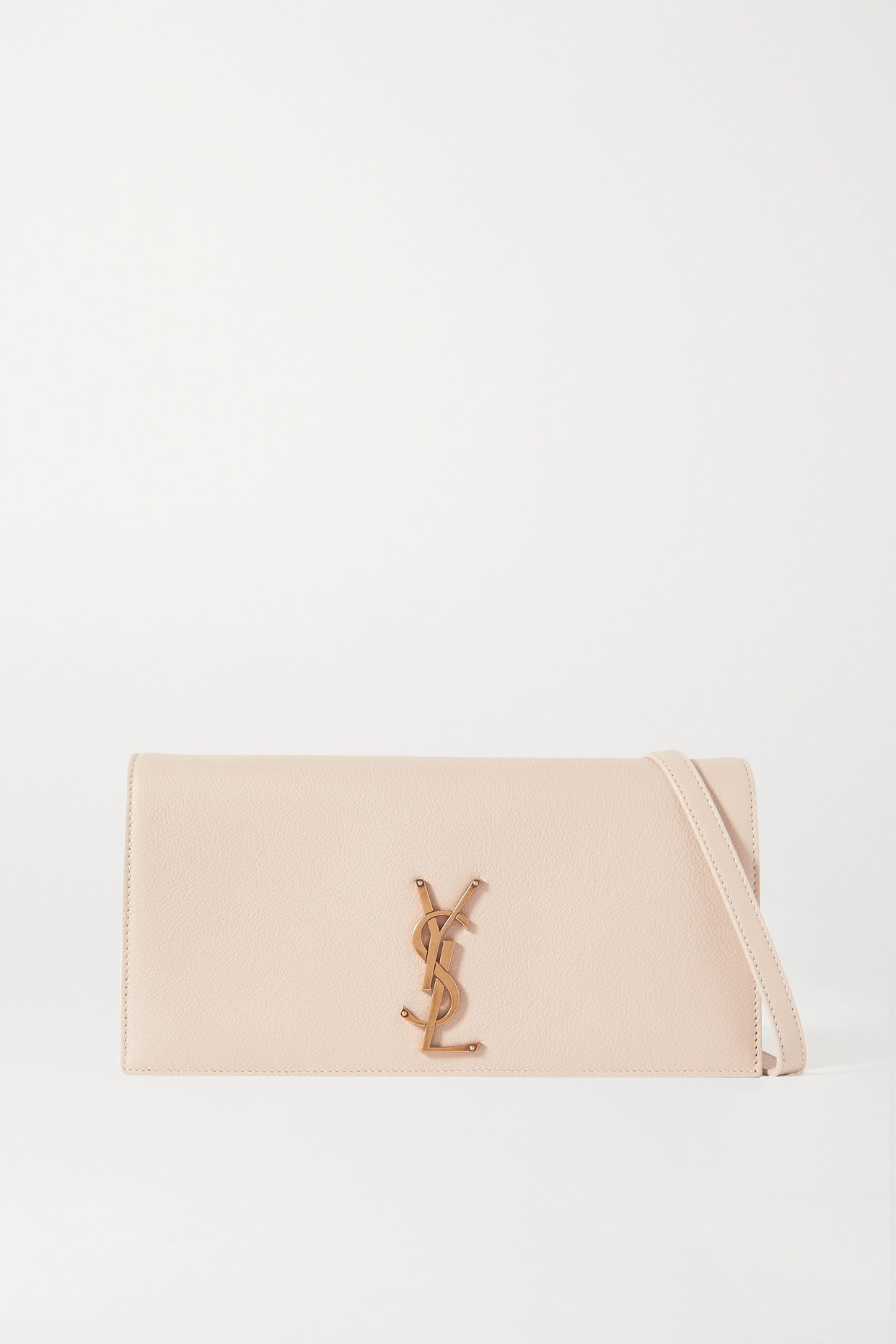 SAINT LAURENT - Kate 99 Leather Shoulder Bag - Neutrals - one size