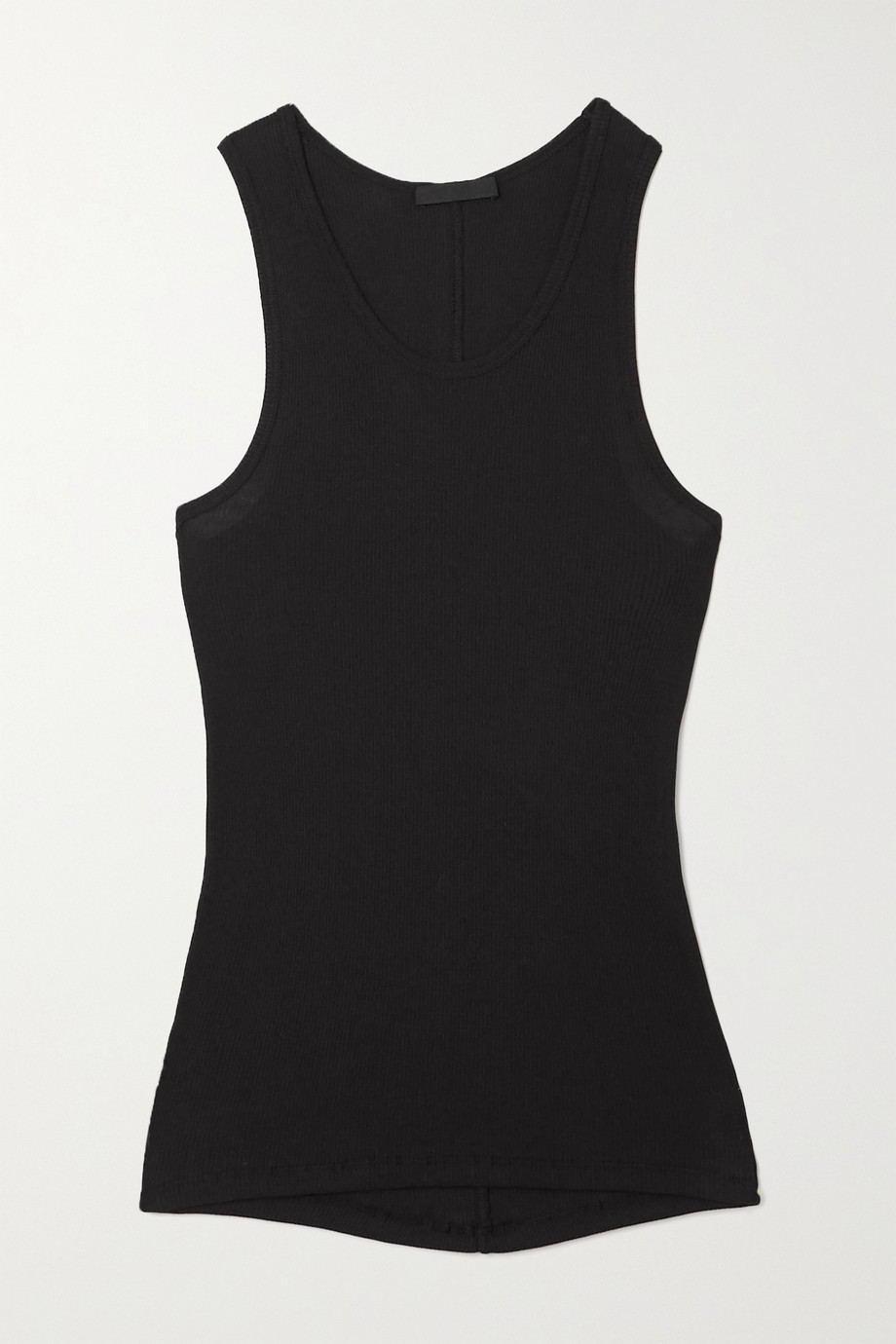 WARDROBE.NYC Ribbed cotton-jersey tank