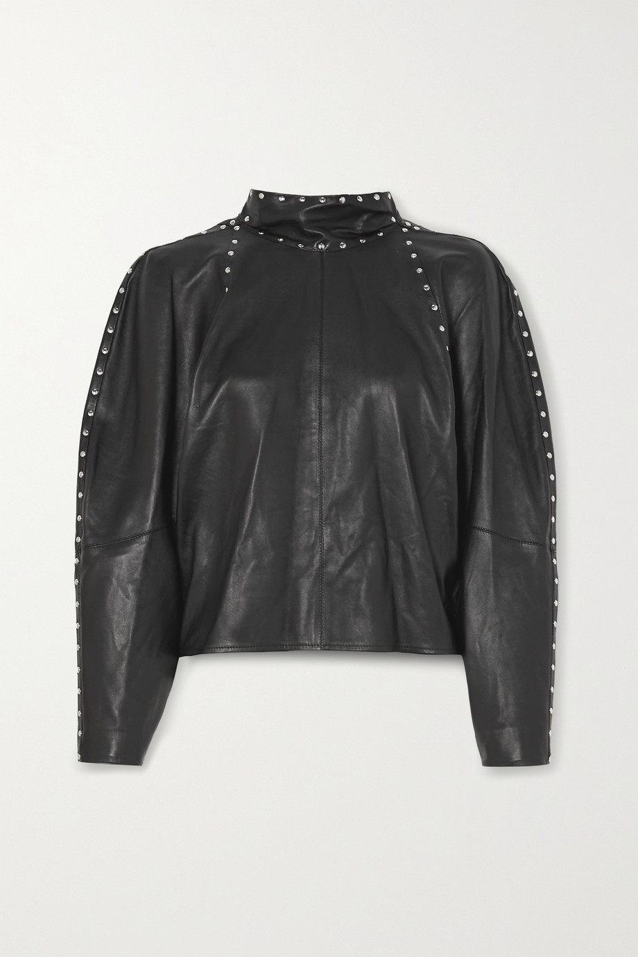 ISABEL MARANT Studded leather top