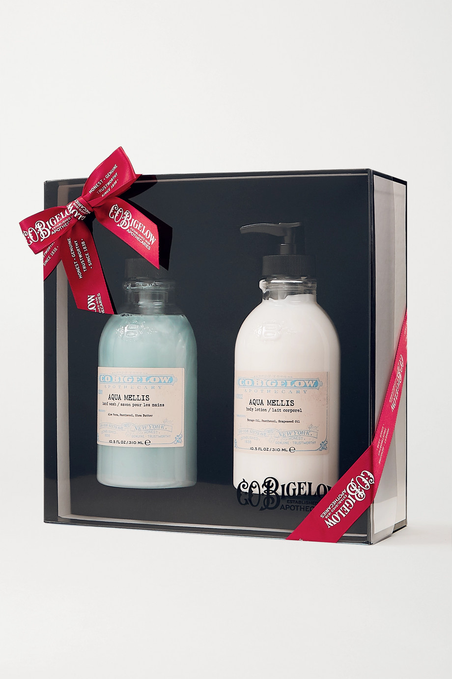 C.O. BIGELOW Iconic Collection Hand Wash and Body Lotion Set - Aqua Mellis