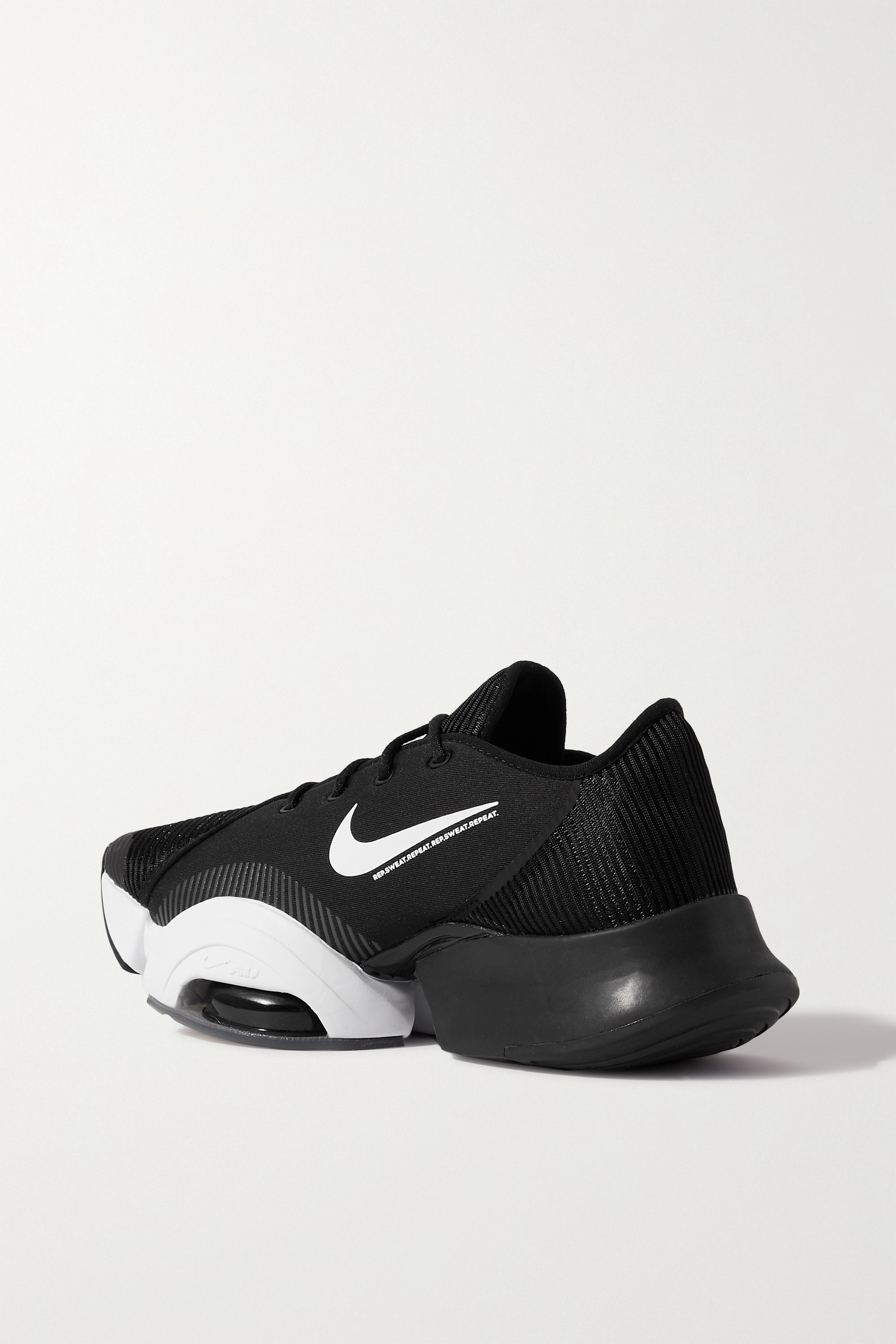 NIKE Air Zoom SuperRep 2 rubber-trimmed ribbed-knit and neoprene sneakers