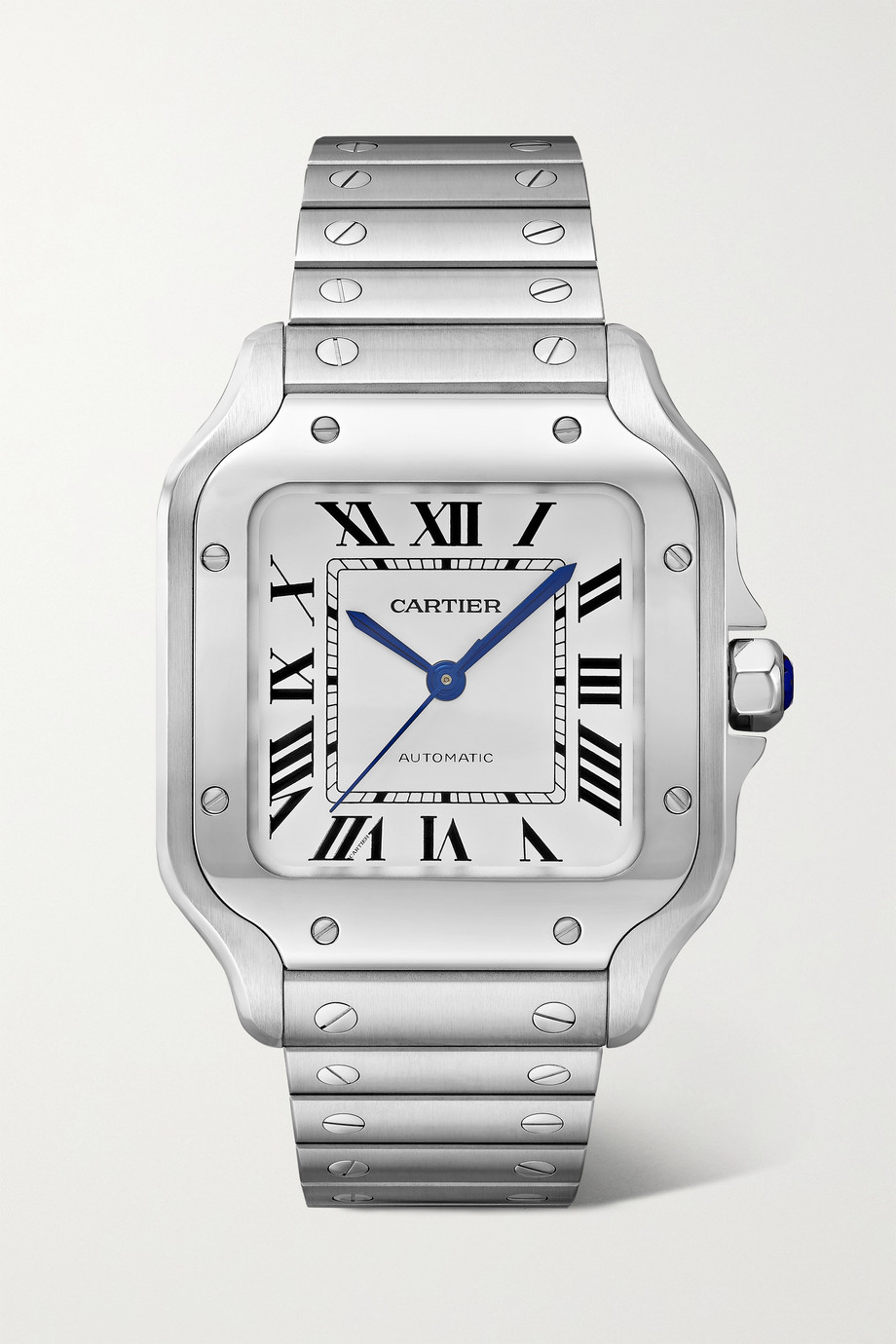 CARTIER Santos de Cartier Automatic 35mm medium stainless steel watch