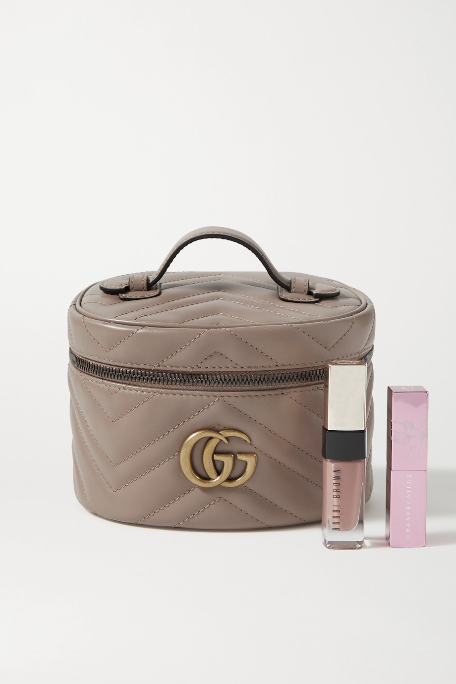 GUCCI GG Marmont mini quilted leather cosmetics case