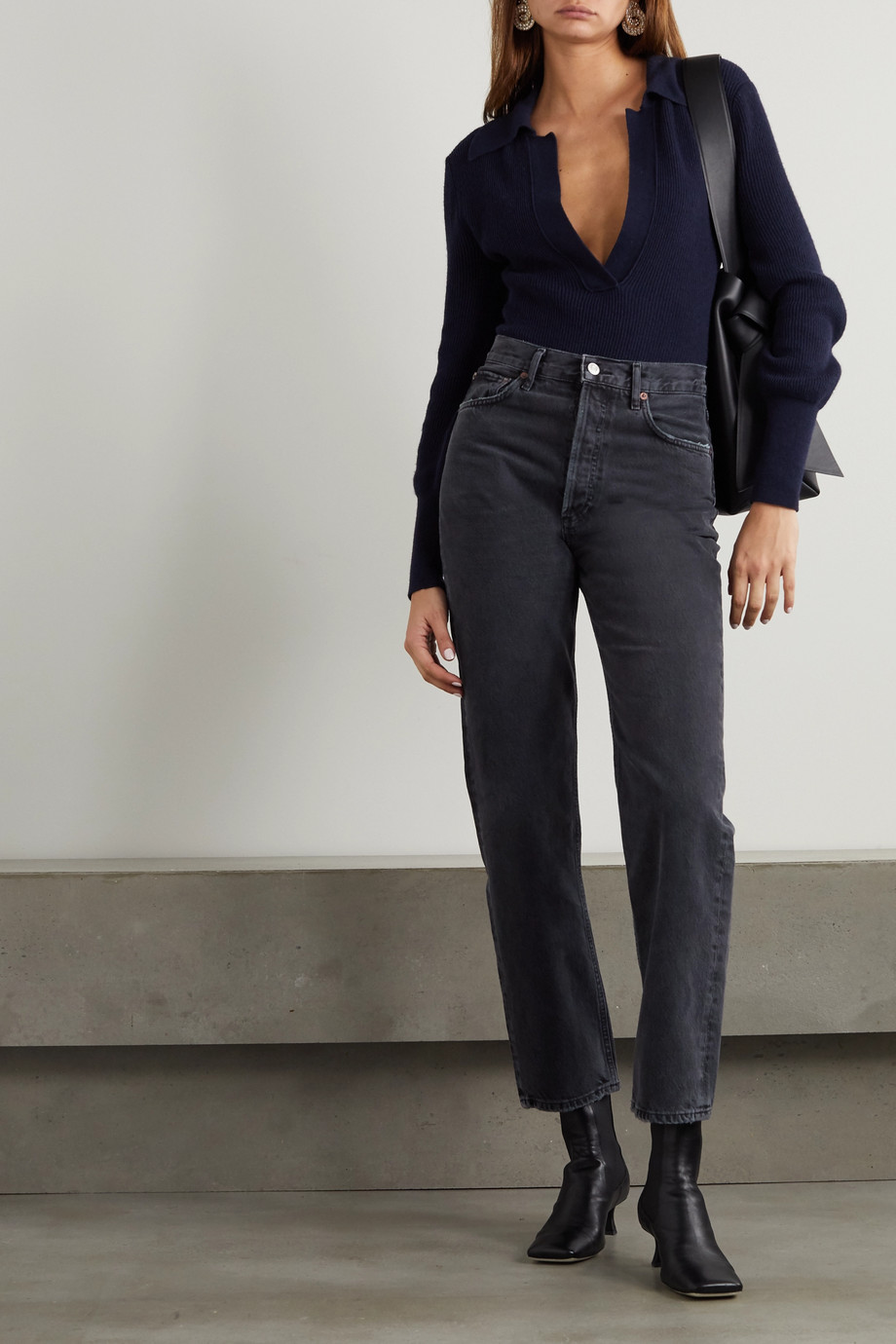 AGOLDE '90s high-rise straight-leg jeans
