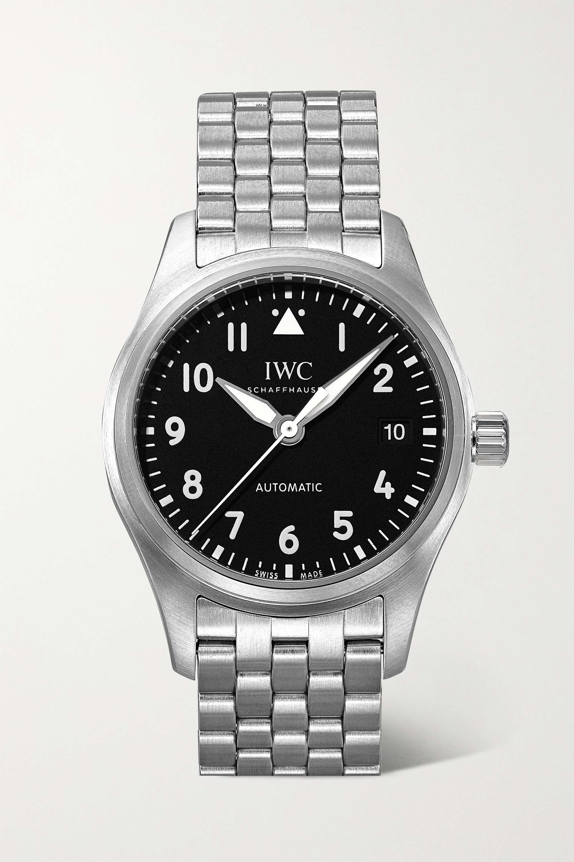 IWC SCHAFFHAUSEN Pilot's Automatic 36mm stainless steel watch