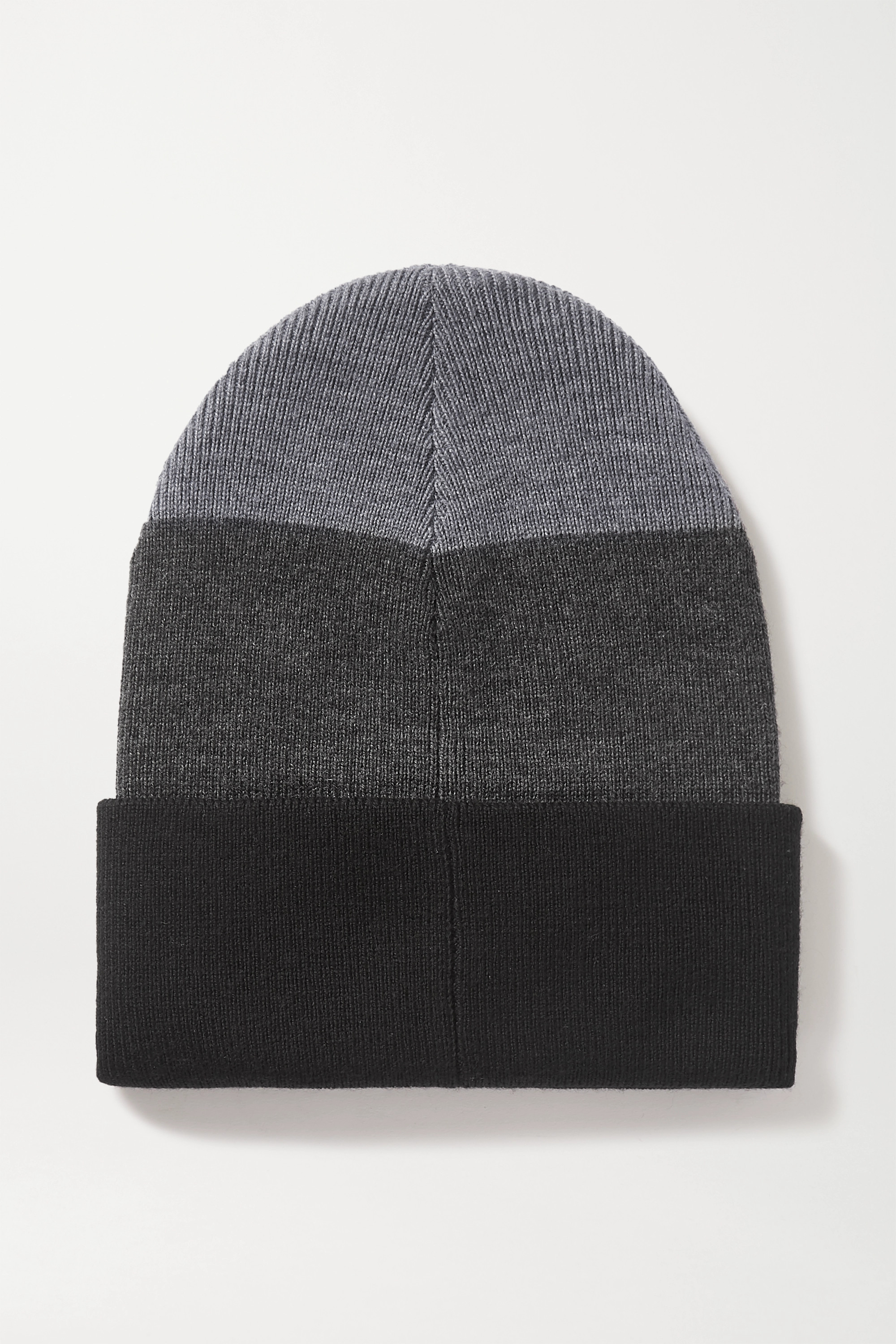 RAG & BONE Addison striped wool-blend beanie