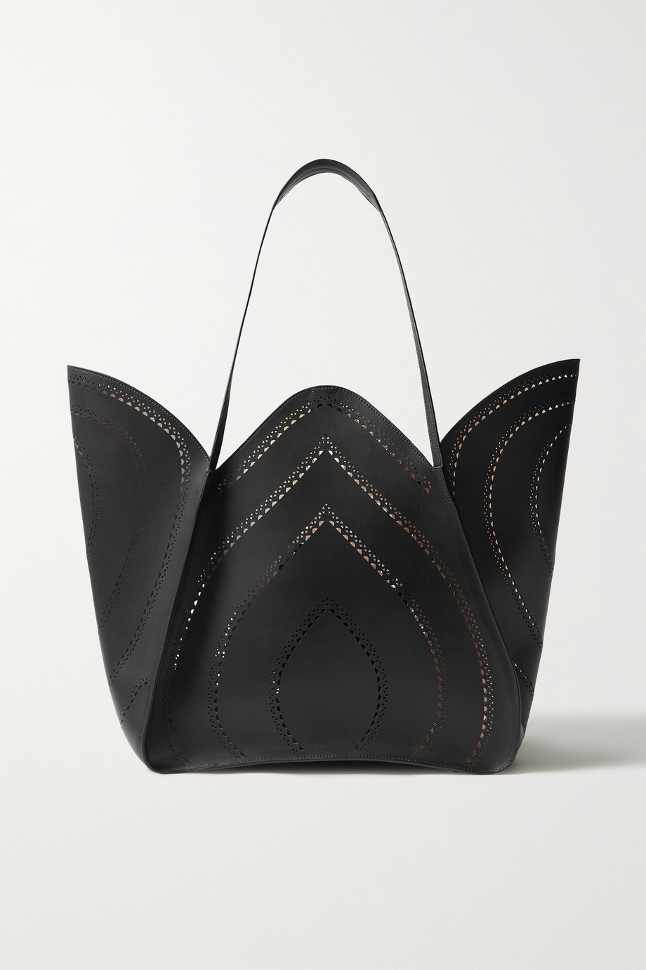 Alaïa Lili laser-cut leather tote