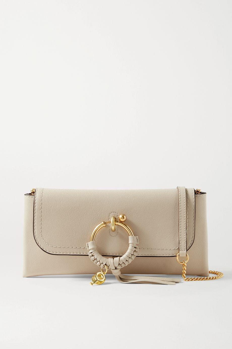 SEE BY CHLOÉ Joan textured-leather shoulder bag