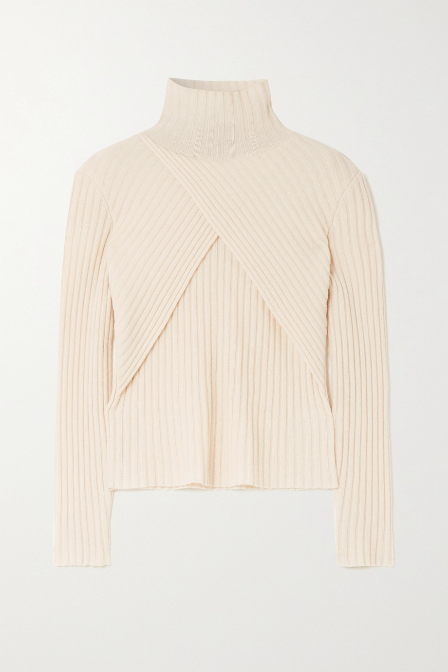 ENVELOPE1976 Son wrap-effect cashmere sweater