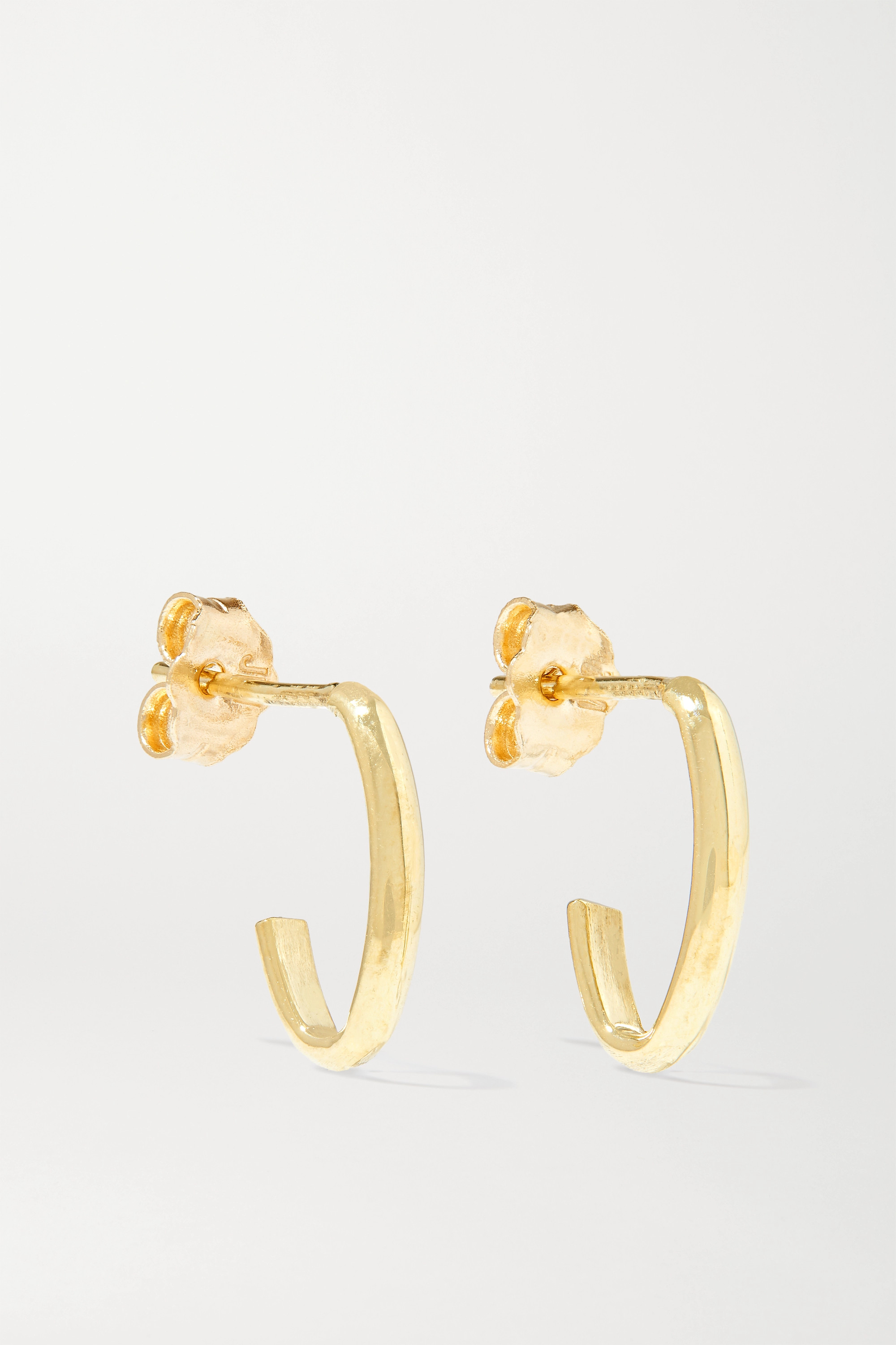 JENNIFER MEYER Edith Link 18-karat gold earrings
