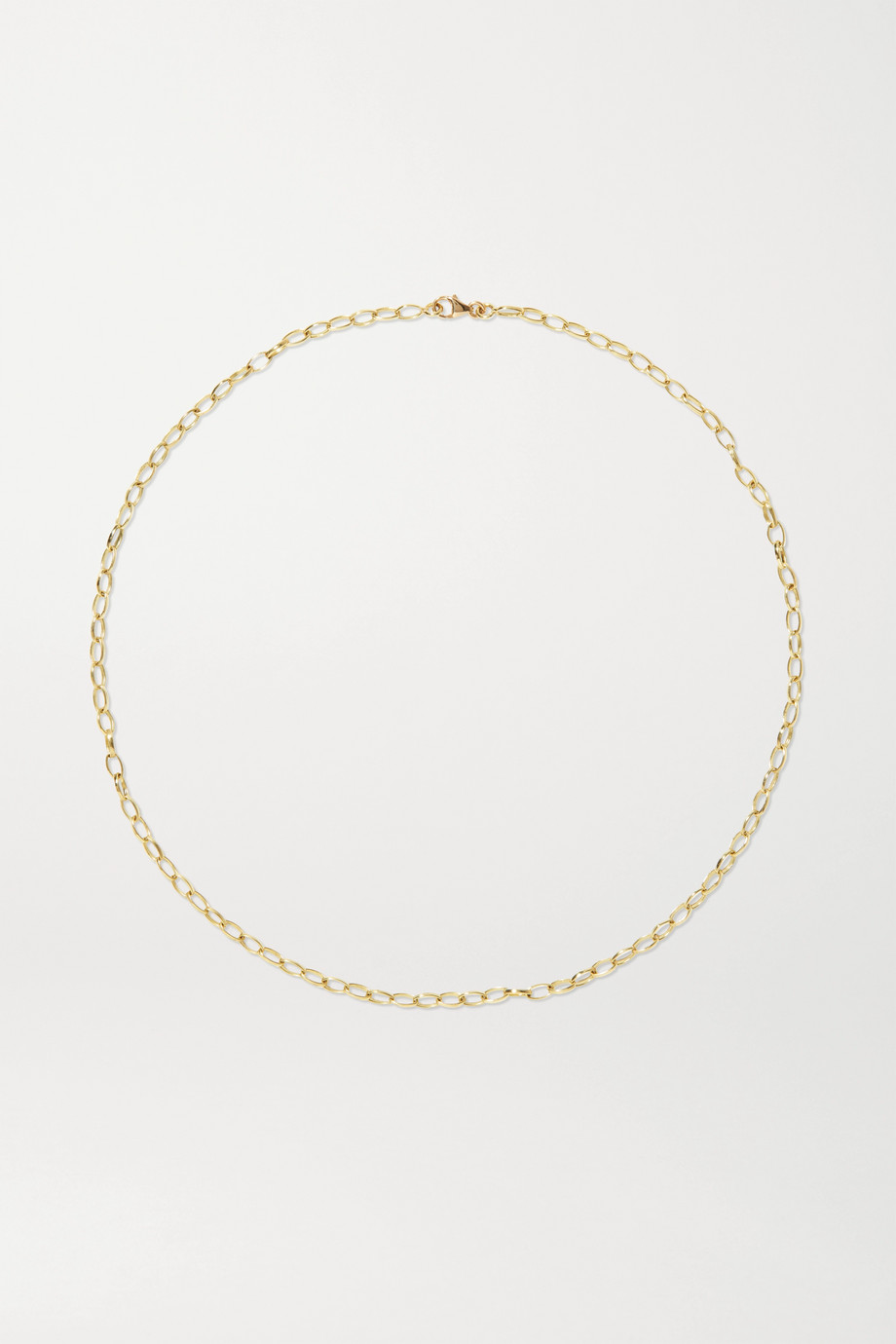 JENNIFER MEYER Edith small 18-karat gold necklace