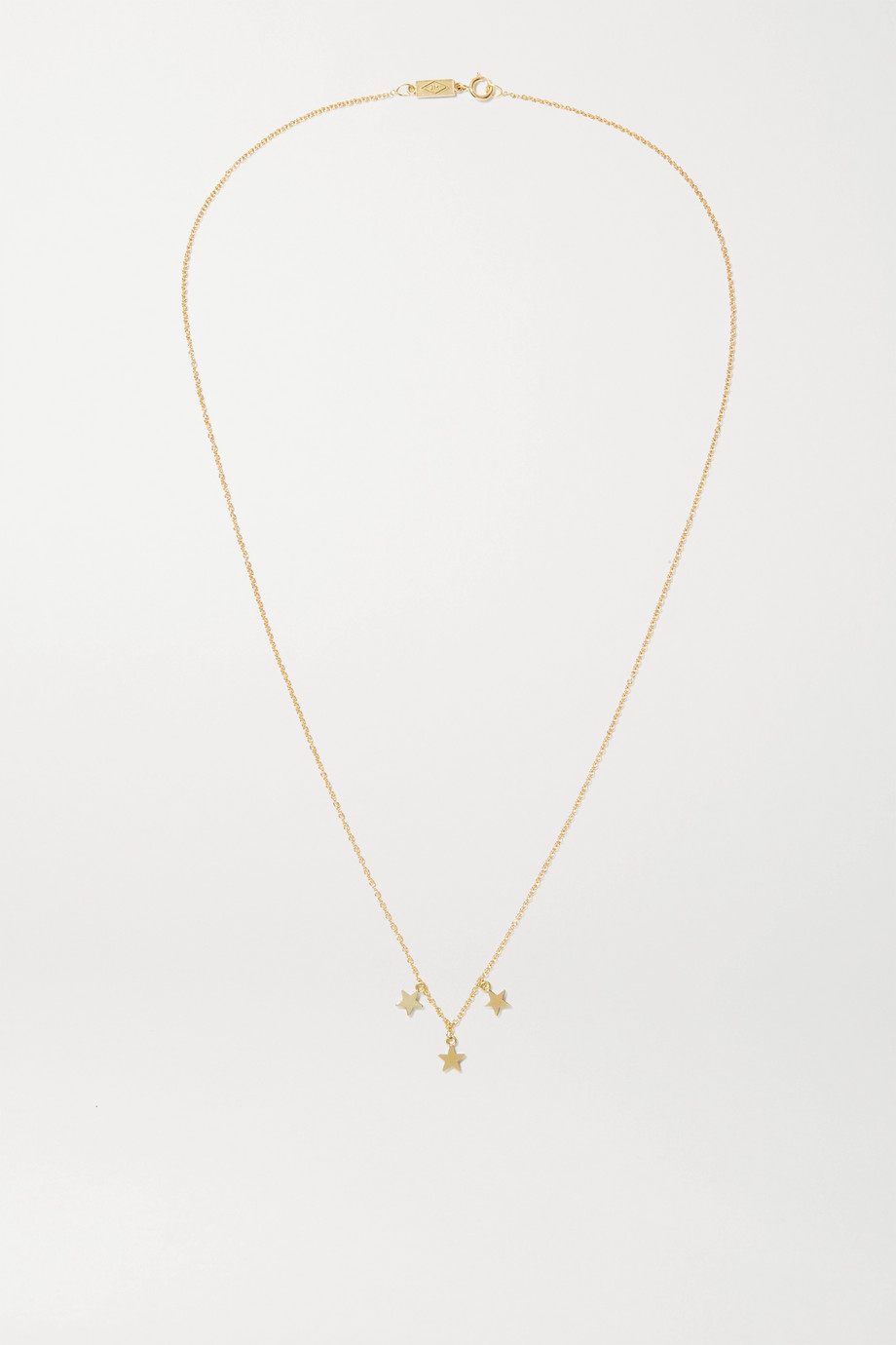 JENNIFER MEYER Mini Star 18-karat gold necklace