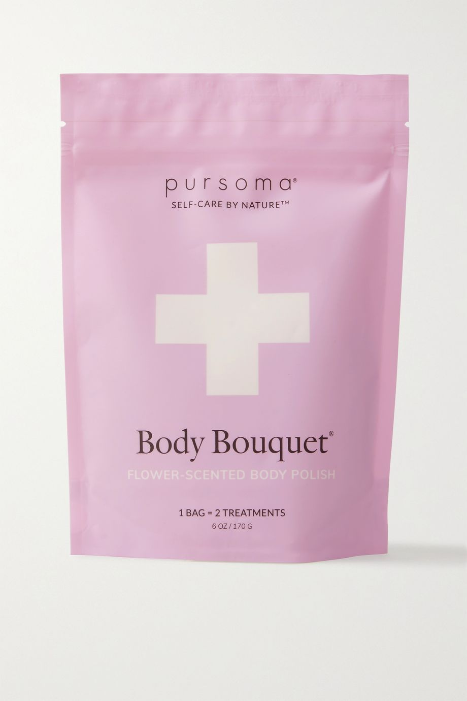 PURSOMA Body Bouquet Ritual Soothing + Healing Jasmine Body Polish, 113g