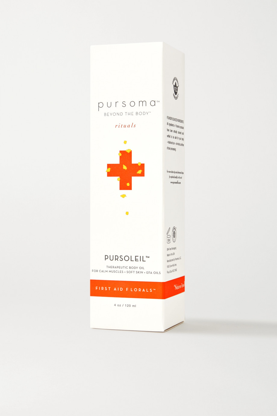 PURSOMA Pursoleil Therapeutic Body Oil, 120ml