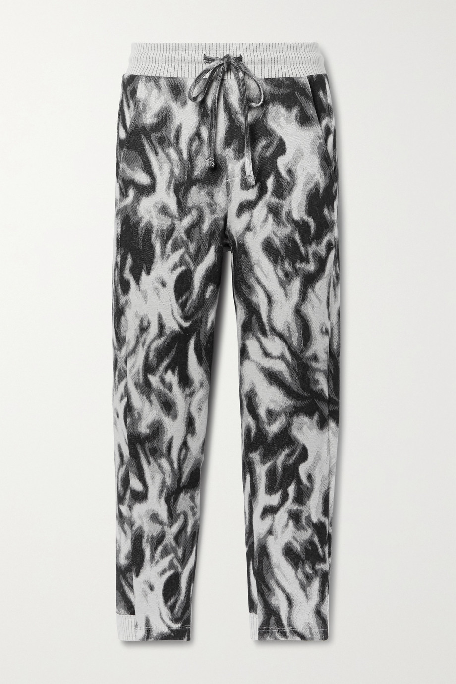 TWENTY MONTRÉAL Flames Hyper Reality jacquard-knit cotton-blend track pants