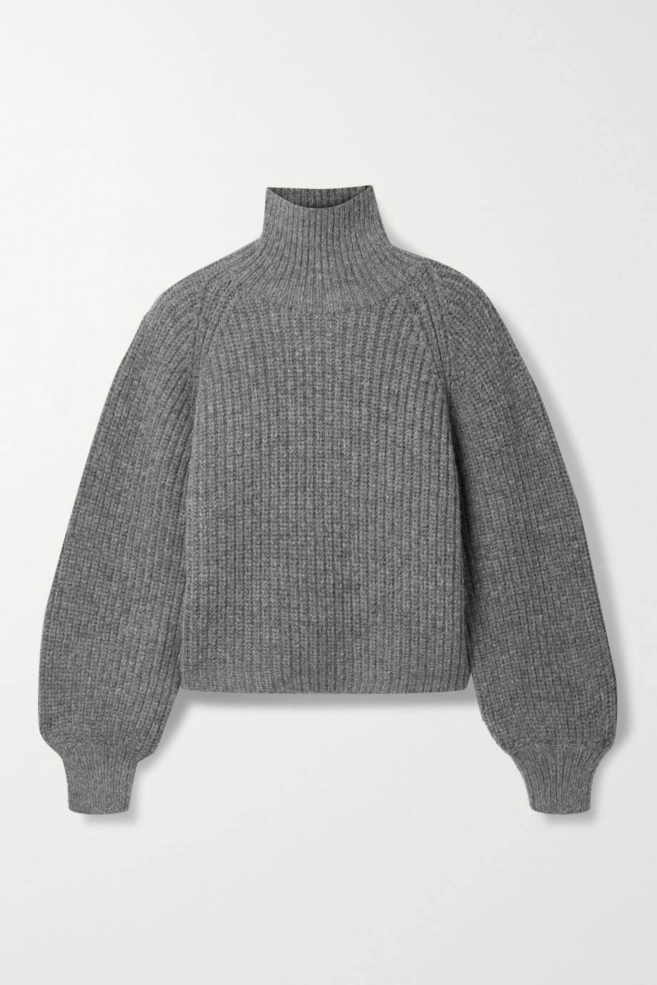 ANINE BING Ainsley ribbed-knit turtleneck sweater