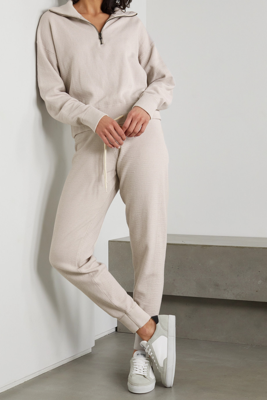 VARLEY Alice 2.0 cotton track pants