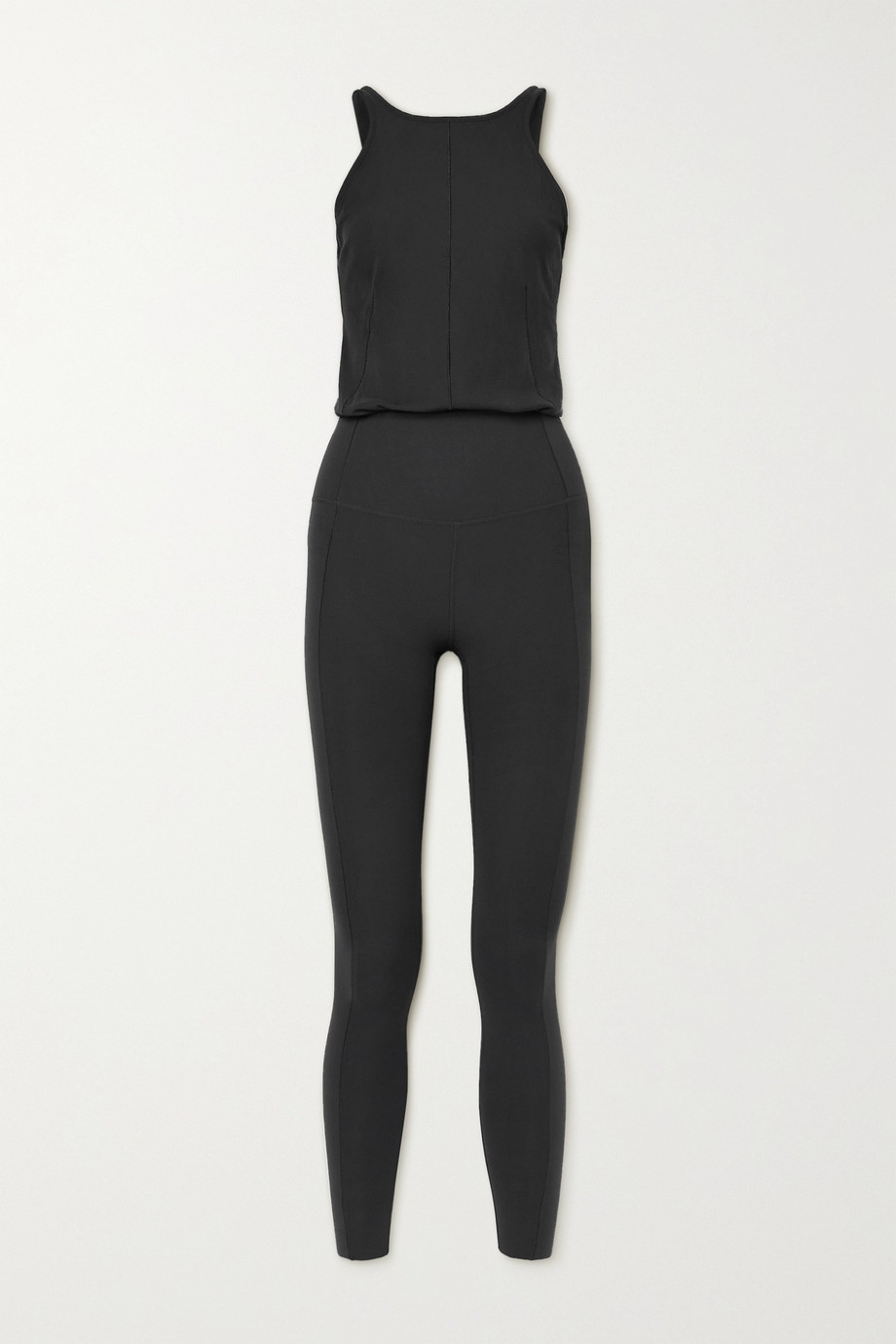 NIKE Yoga Infinalon and stretch-jersey jumpsuit