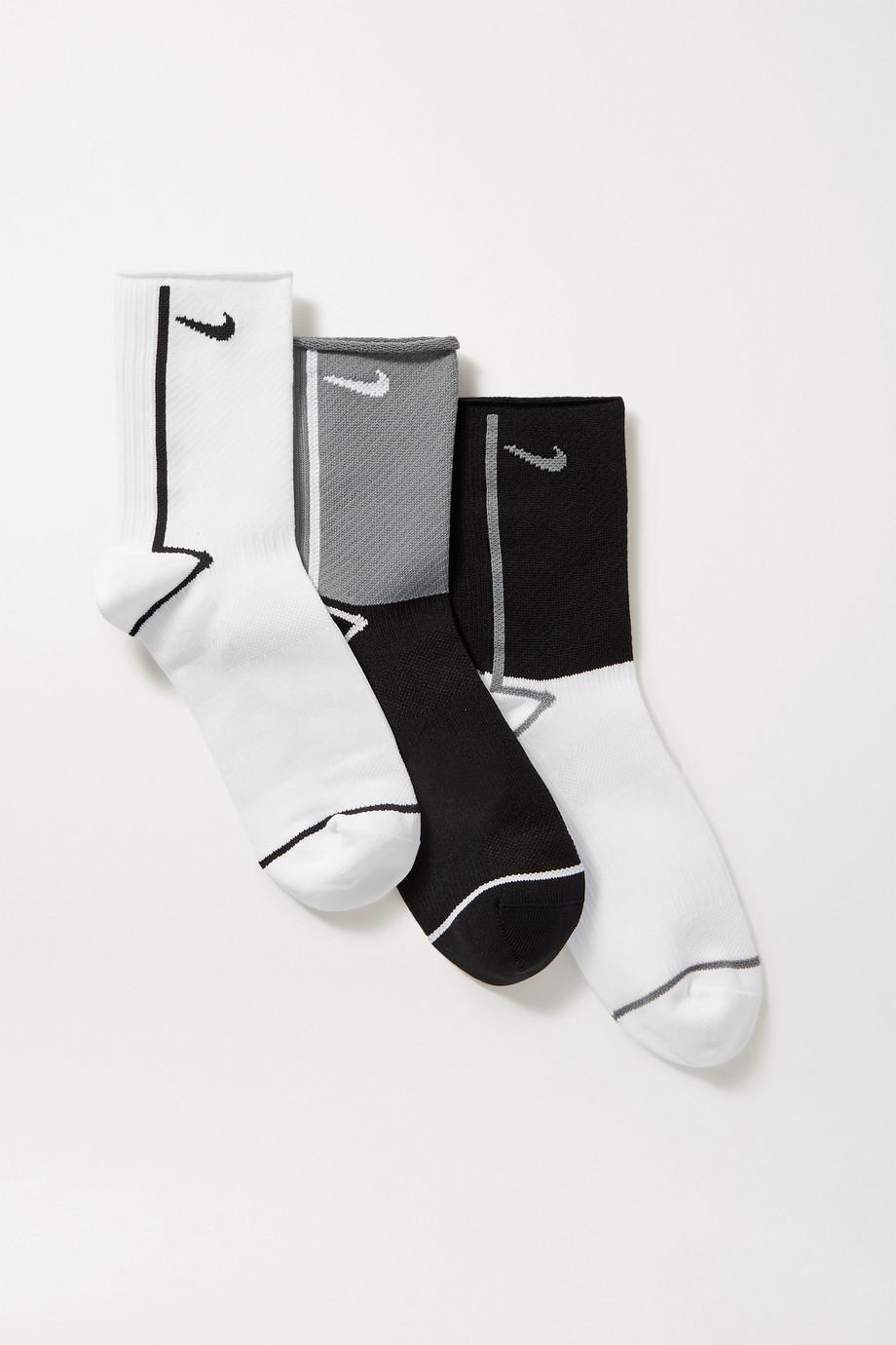 NIKE Everyday Plus set of three Dri-FIT socks