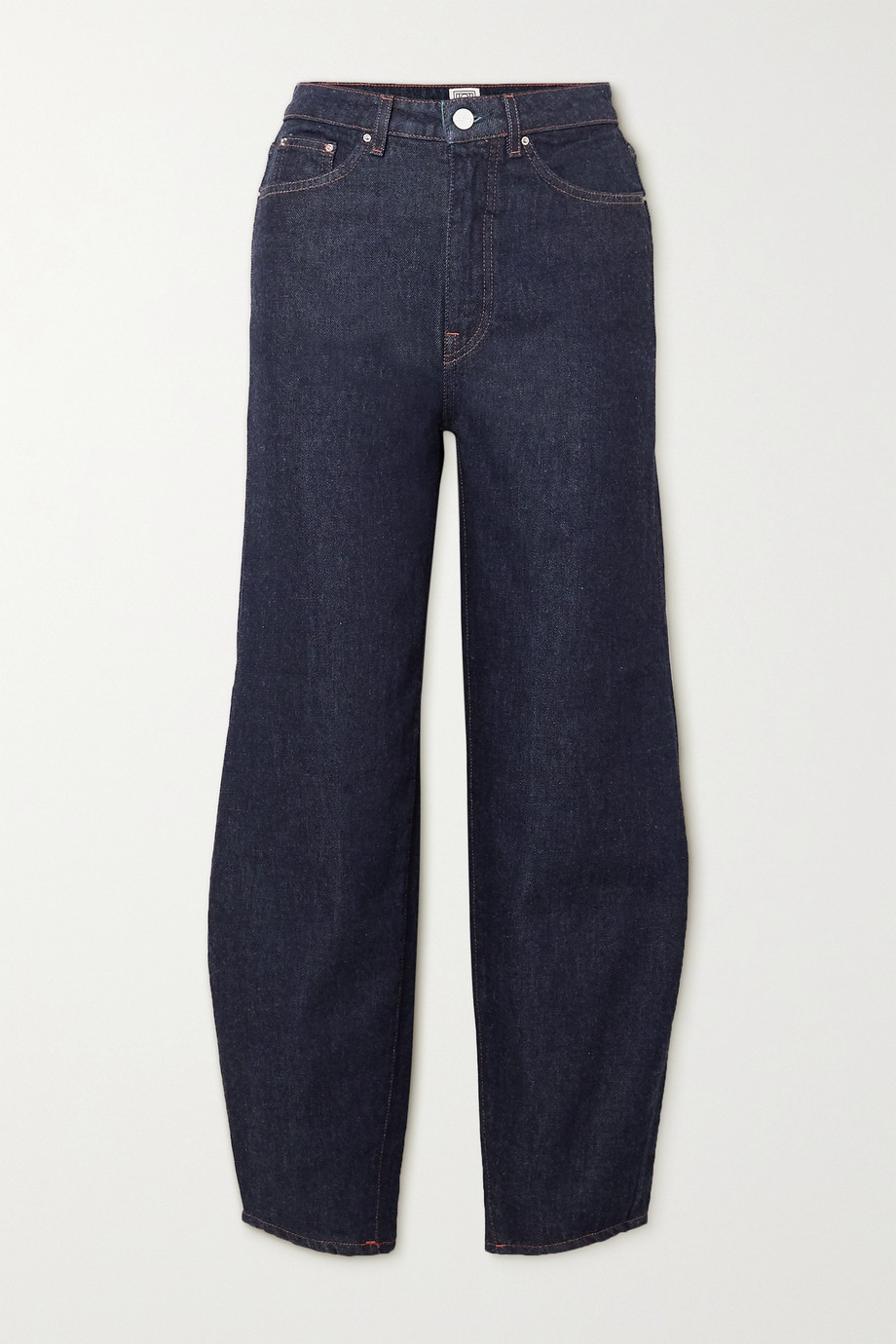 TOTÊME High-rise tapered jeans