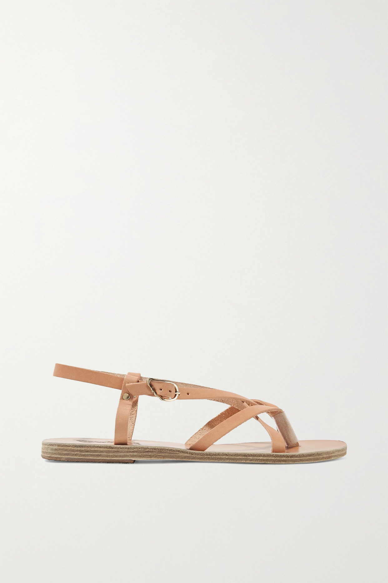 ANCIENT GREEK SANDALS - Semele 皮革凉鞋 - 中性色 - IT38