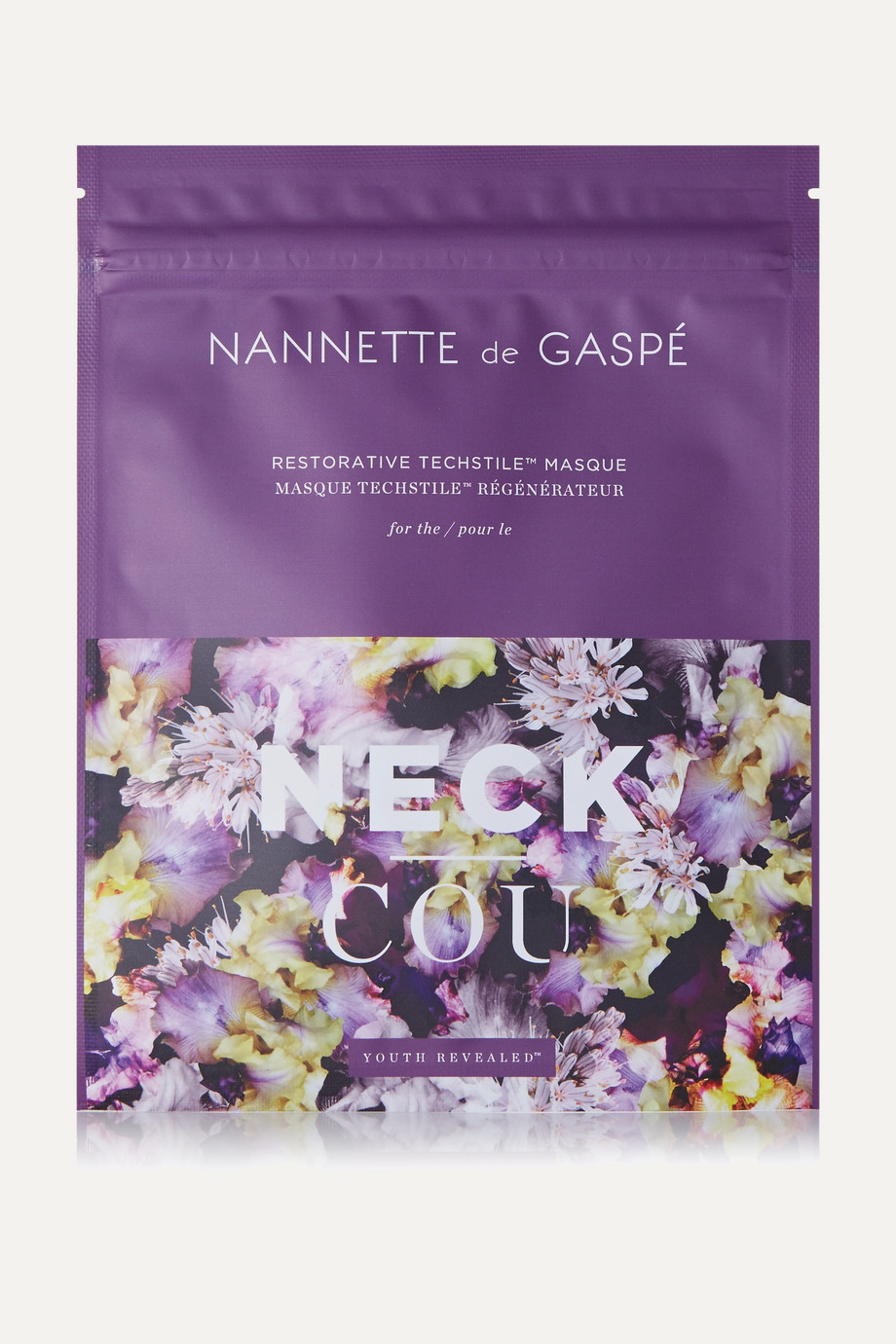NANNETTE DE GASPÉ Restorative Techstile Neck Masque