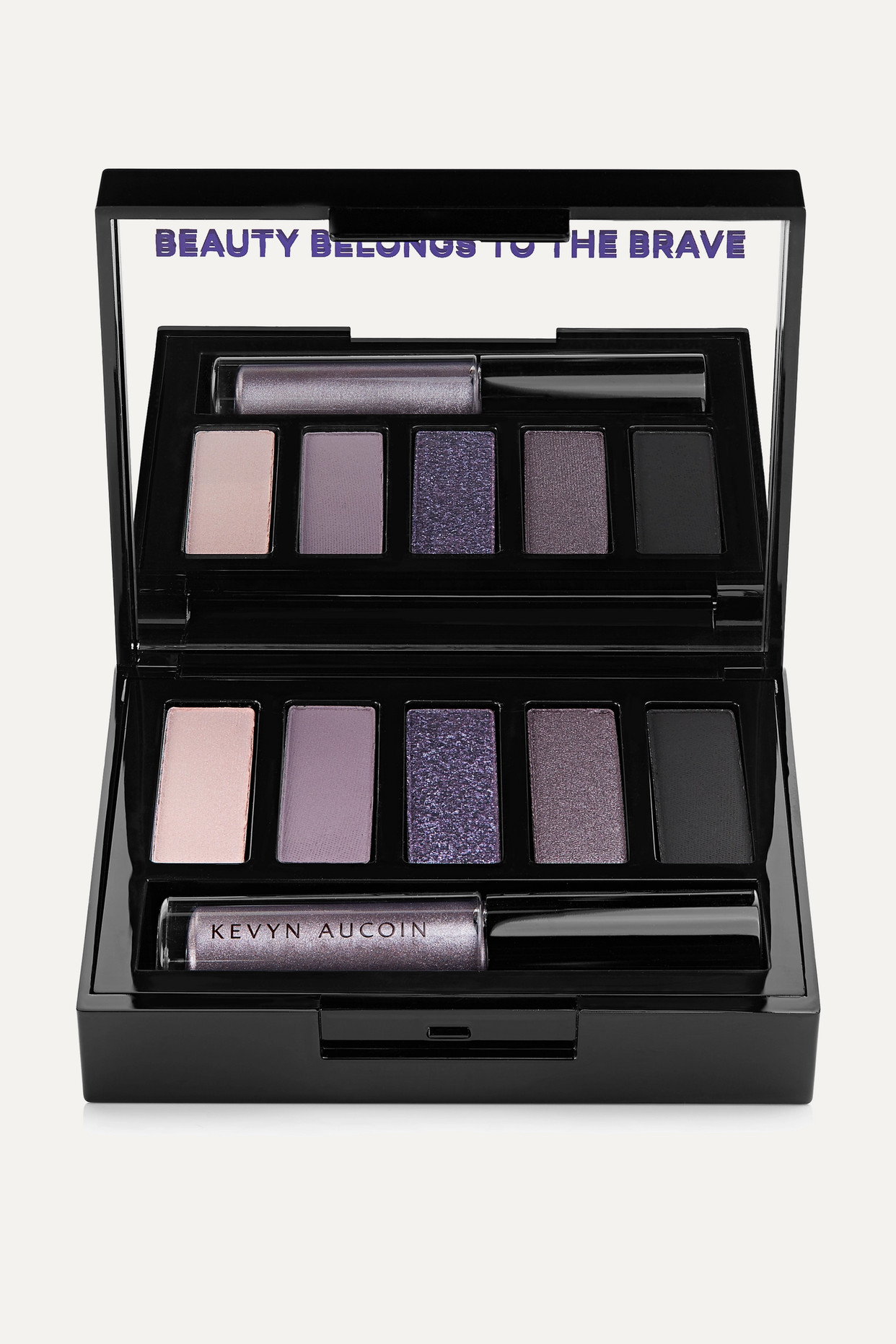 KEVYN AUCOIN - 魅力电眸眼影盘(色号:magnify) - 银色 - one size