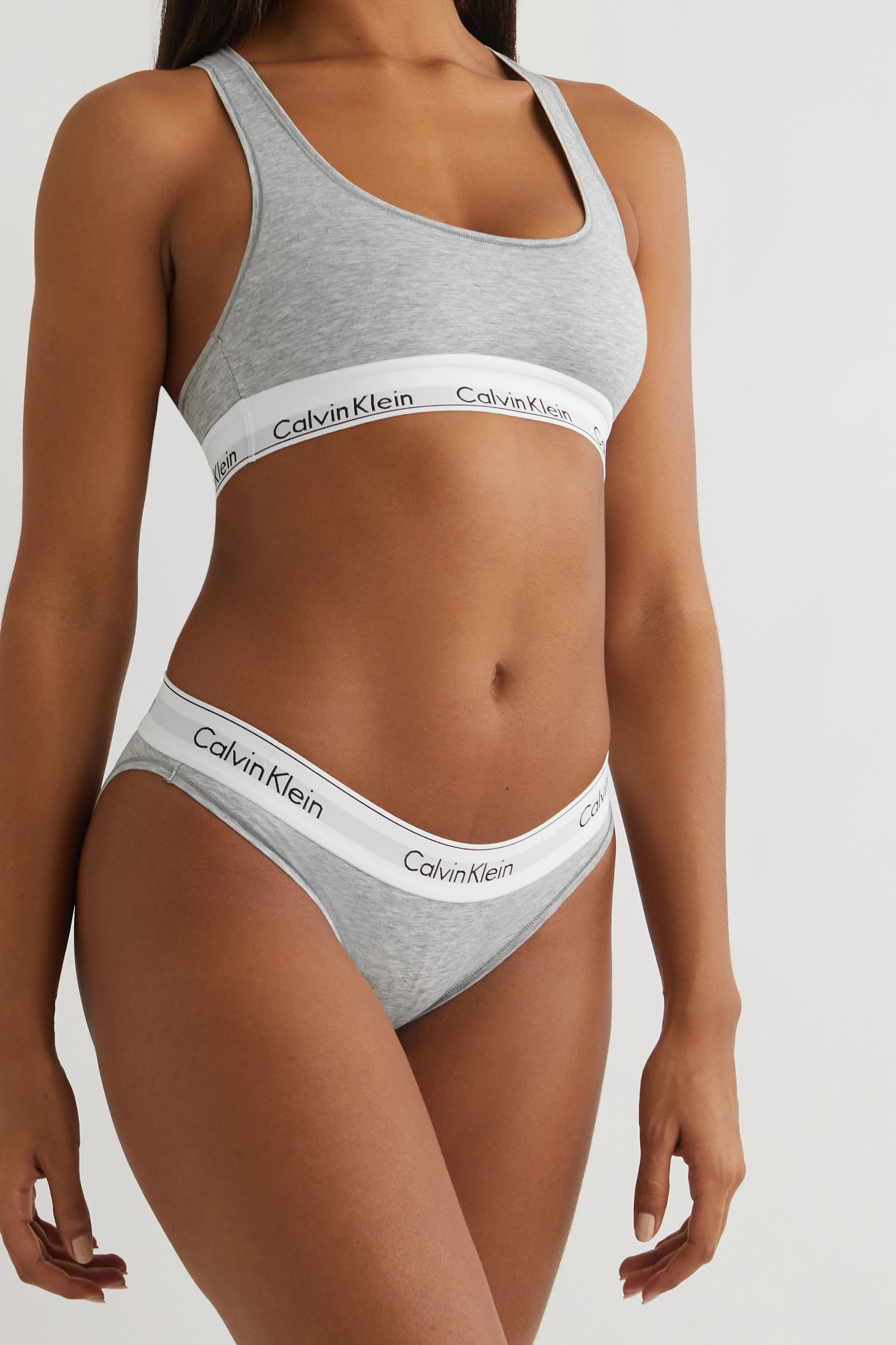 CALVIN KLEIN Modern Cotton stretch cotton-blend briefs