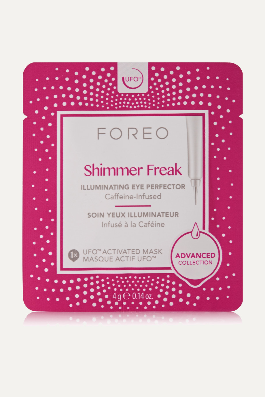 FOREO Shimmer Freak UFO Illuminating Eye Mask x 6