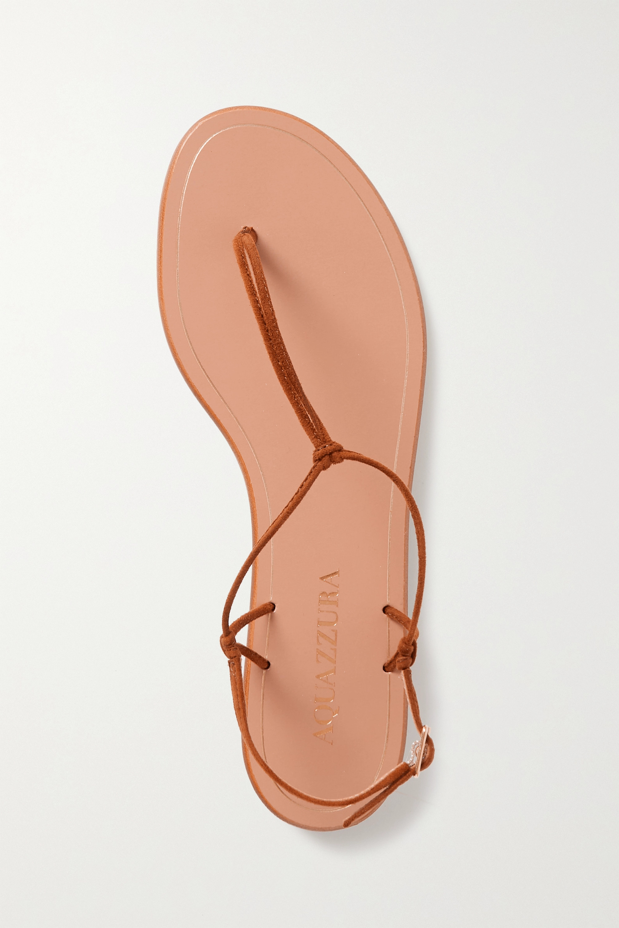 AQUAZZURA Very Capri suede sandals