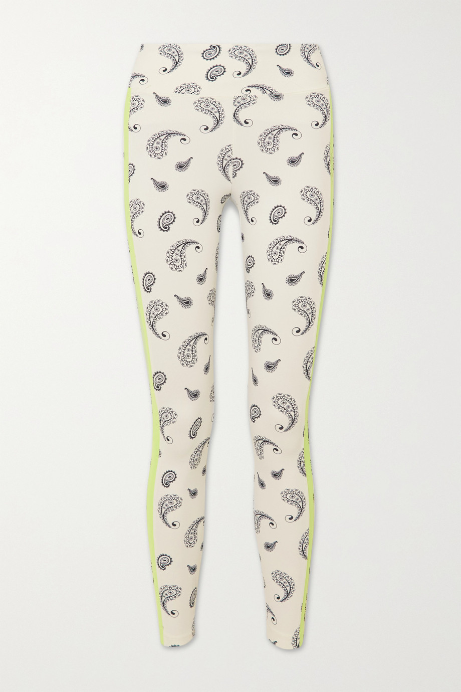 KORAL Dynamic Duo paisley-print stretch leggings