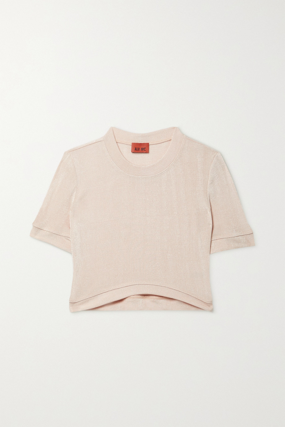 ALIX NYC James cropped stretch-knit T-shirt