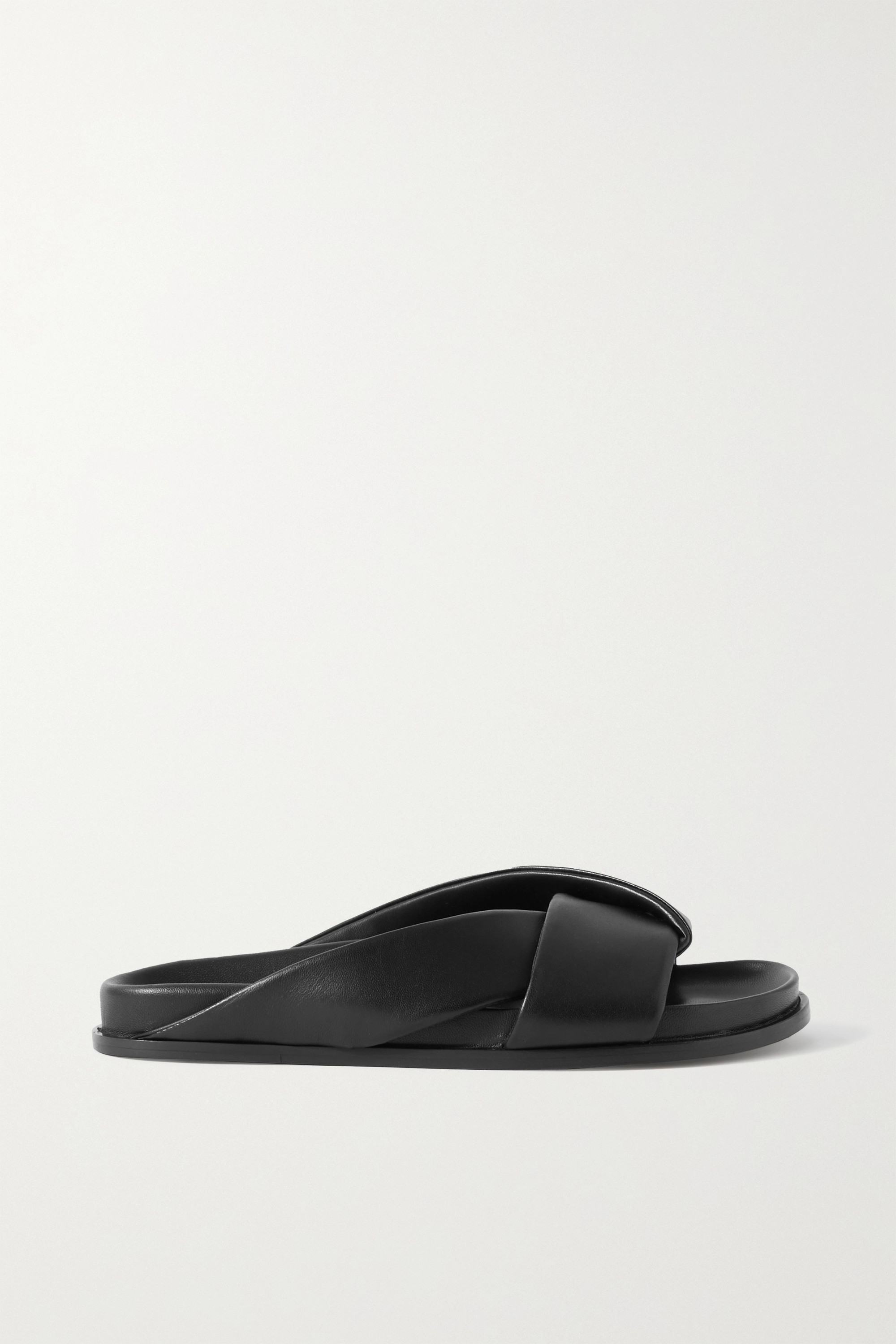 EMME PARSONS Leather slides
