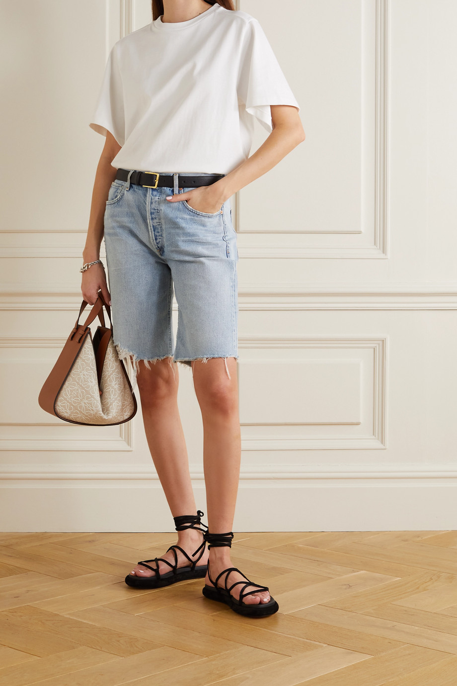CITIZENS OF HUMANITY Ambrosio denim shorts