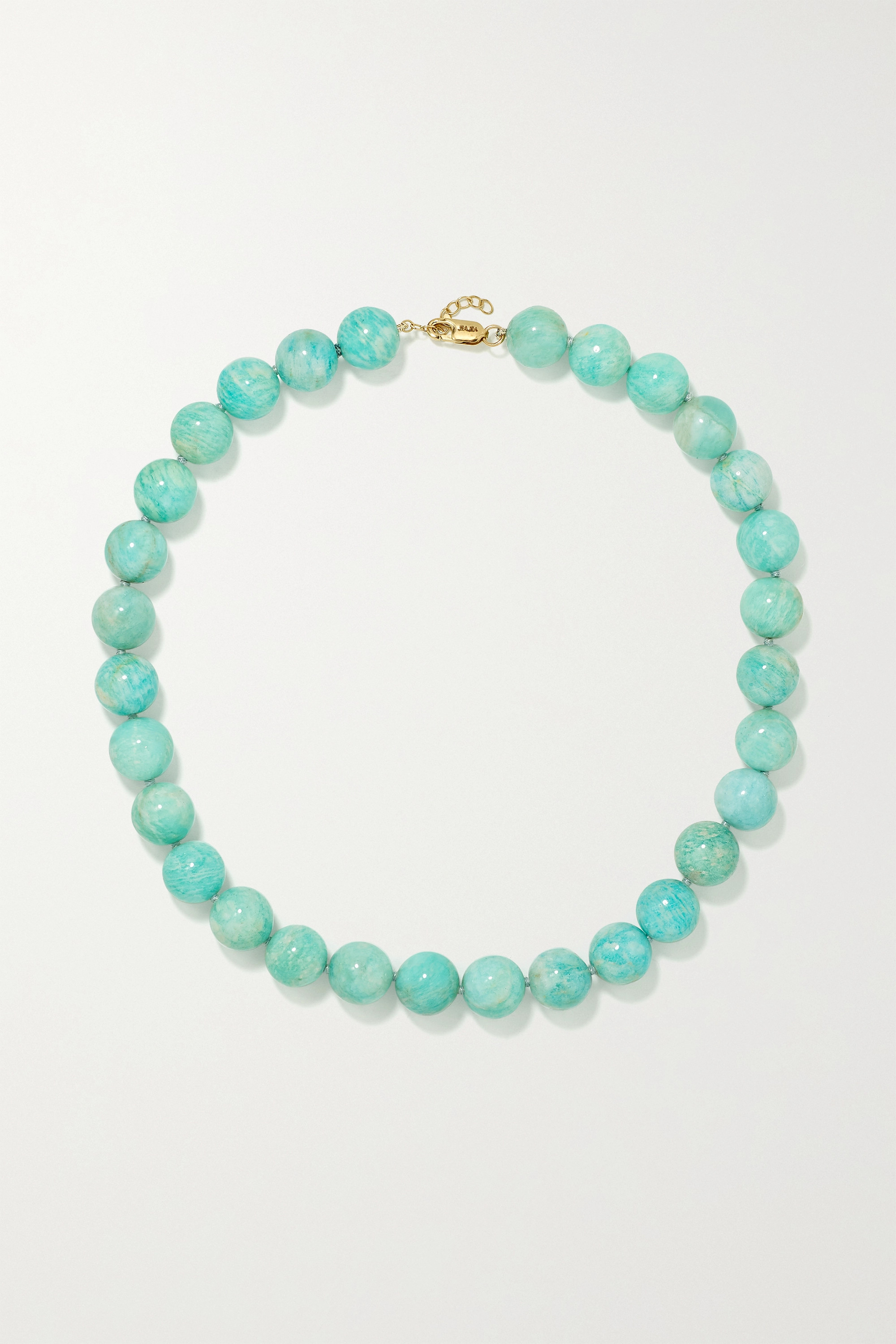 JIA JIA Gold amazonite necklace