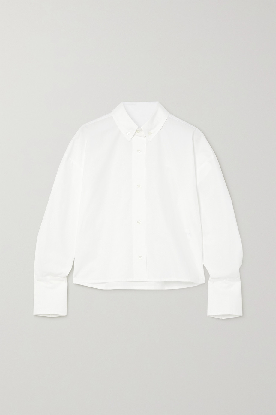 LOULOU STUDIO Pulau cotton-poplin shirt