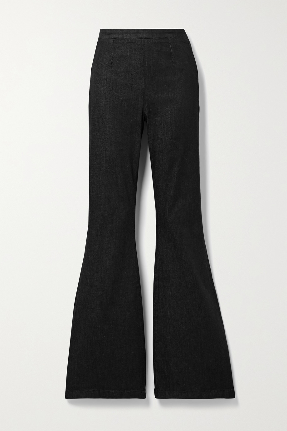 SAFIYAA Halluana stretch-denim flared pants