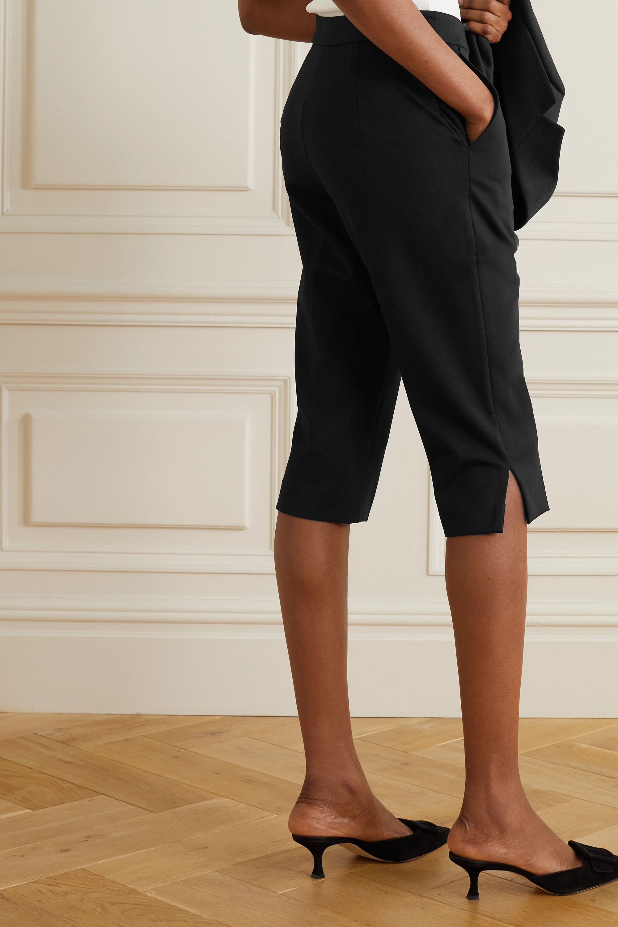 BY MALENE BIRGER Lien crepe shorts